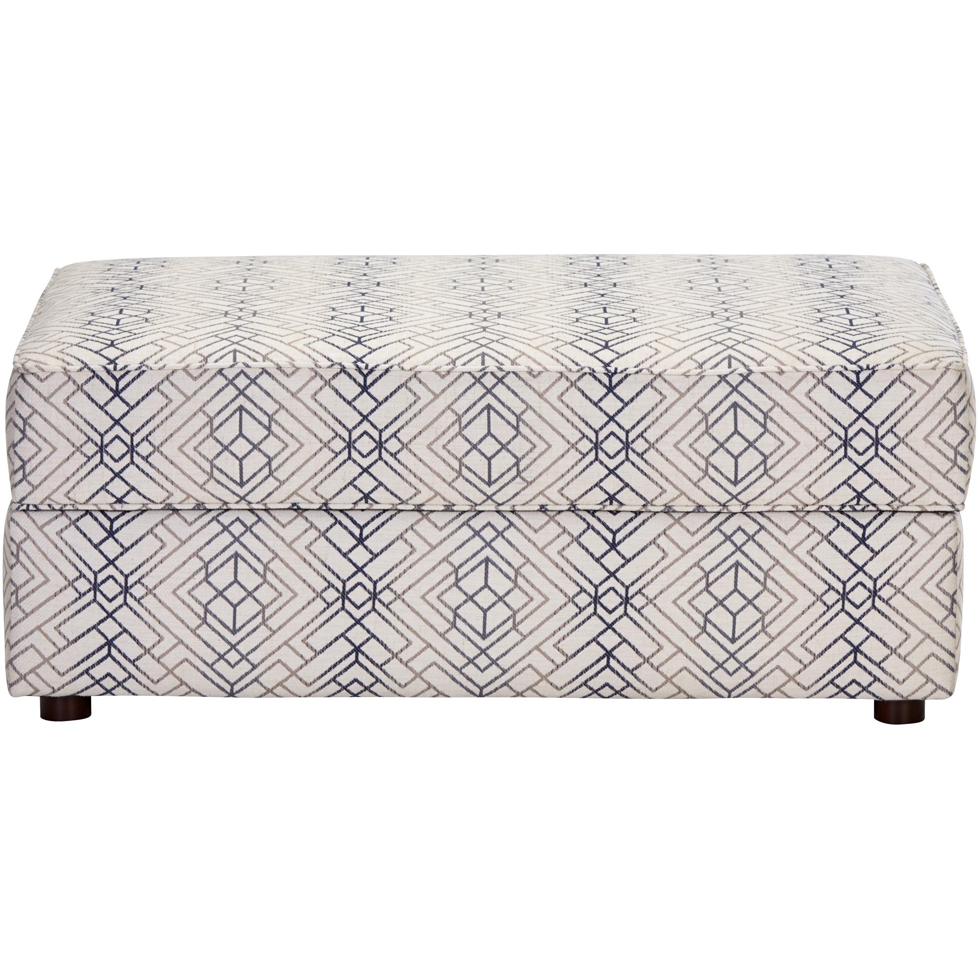 Bauhaus Furniture   Rise Gray Storage Ottoman