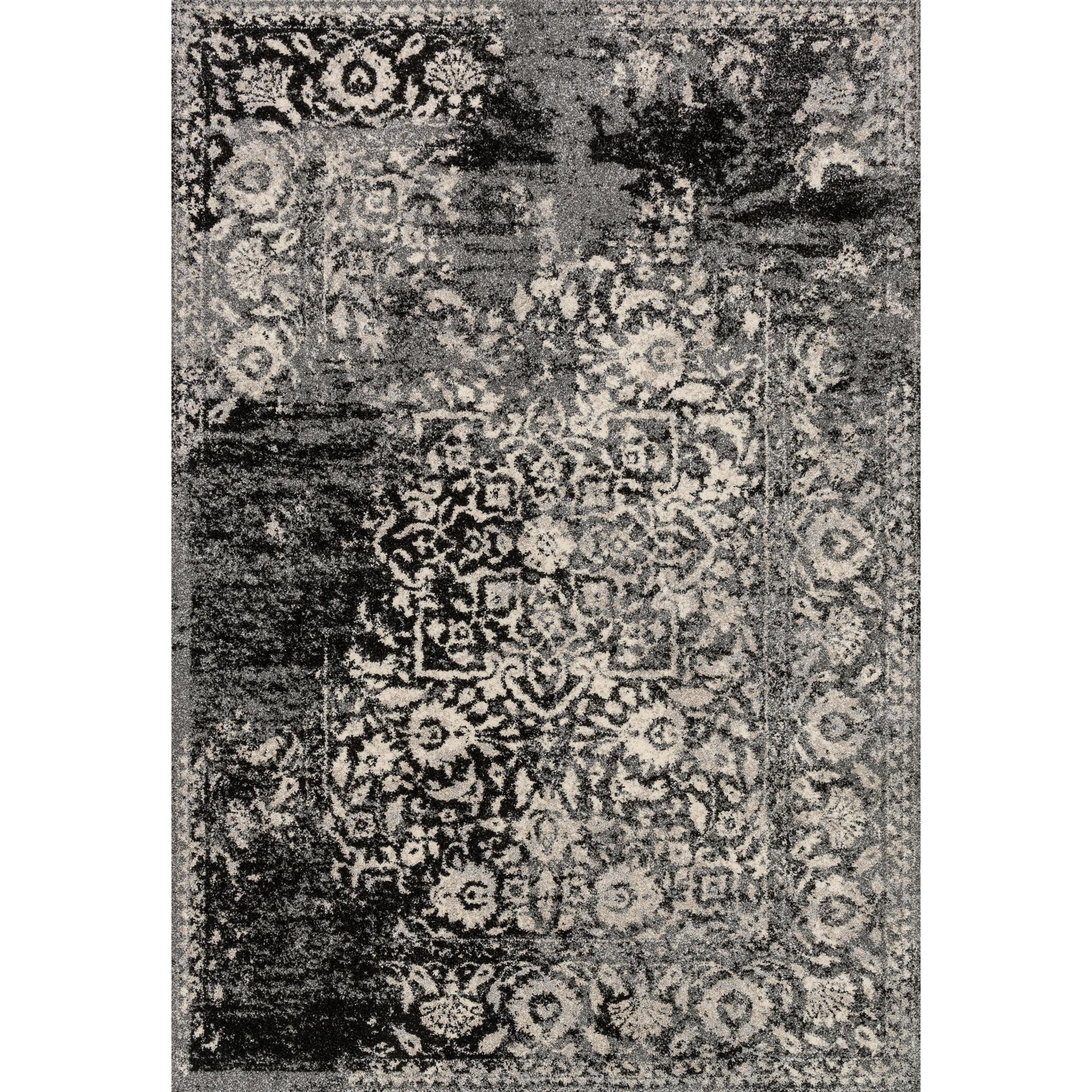 Loloi | Emory Black 5x8 Area Rug