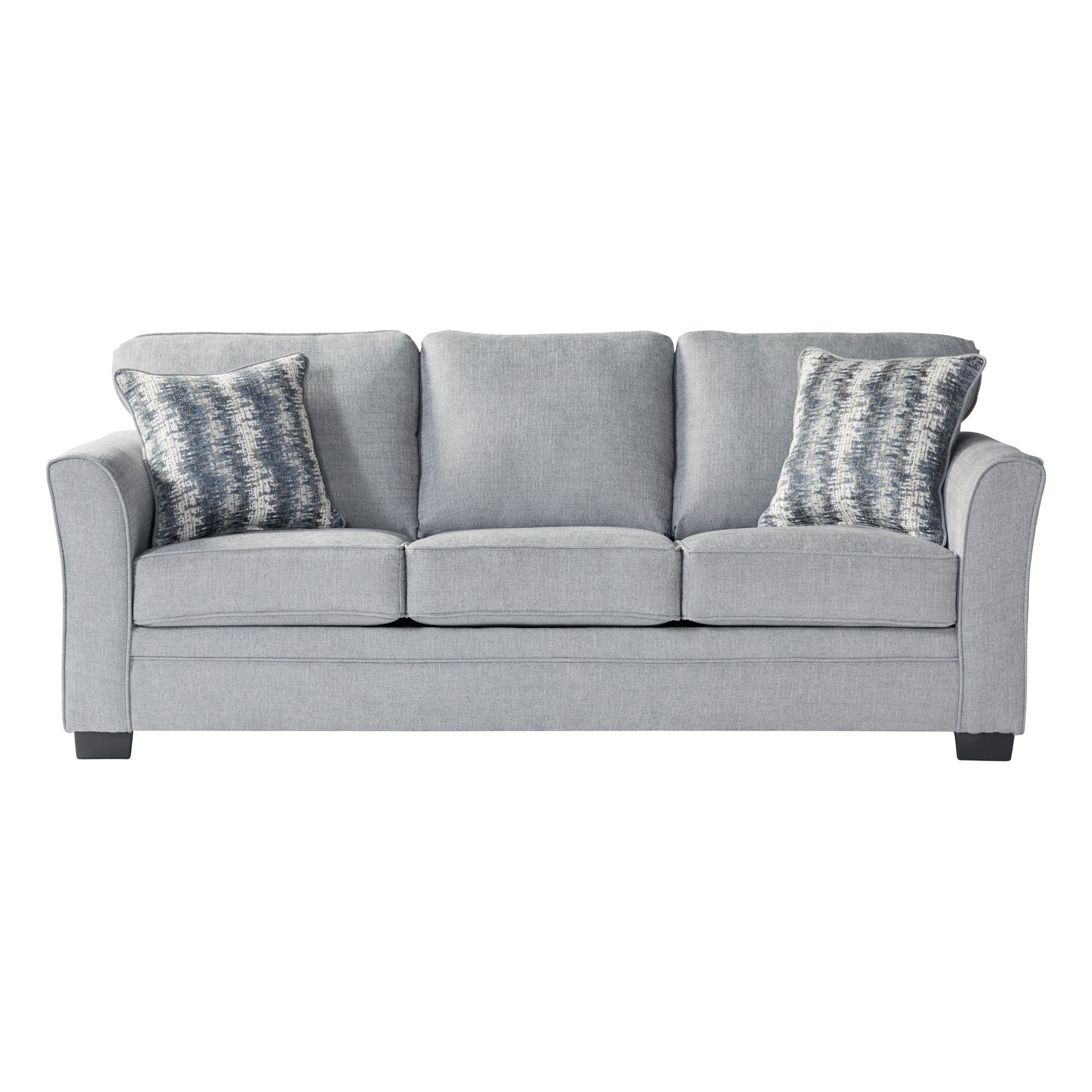 Serta Upholstery By Hughes Furniture | Bolster Mist Queen Sleeper Sofa