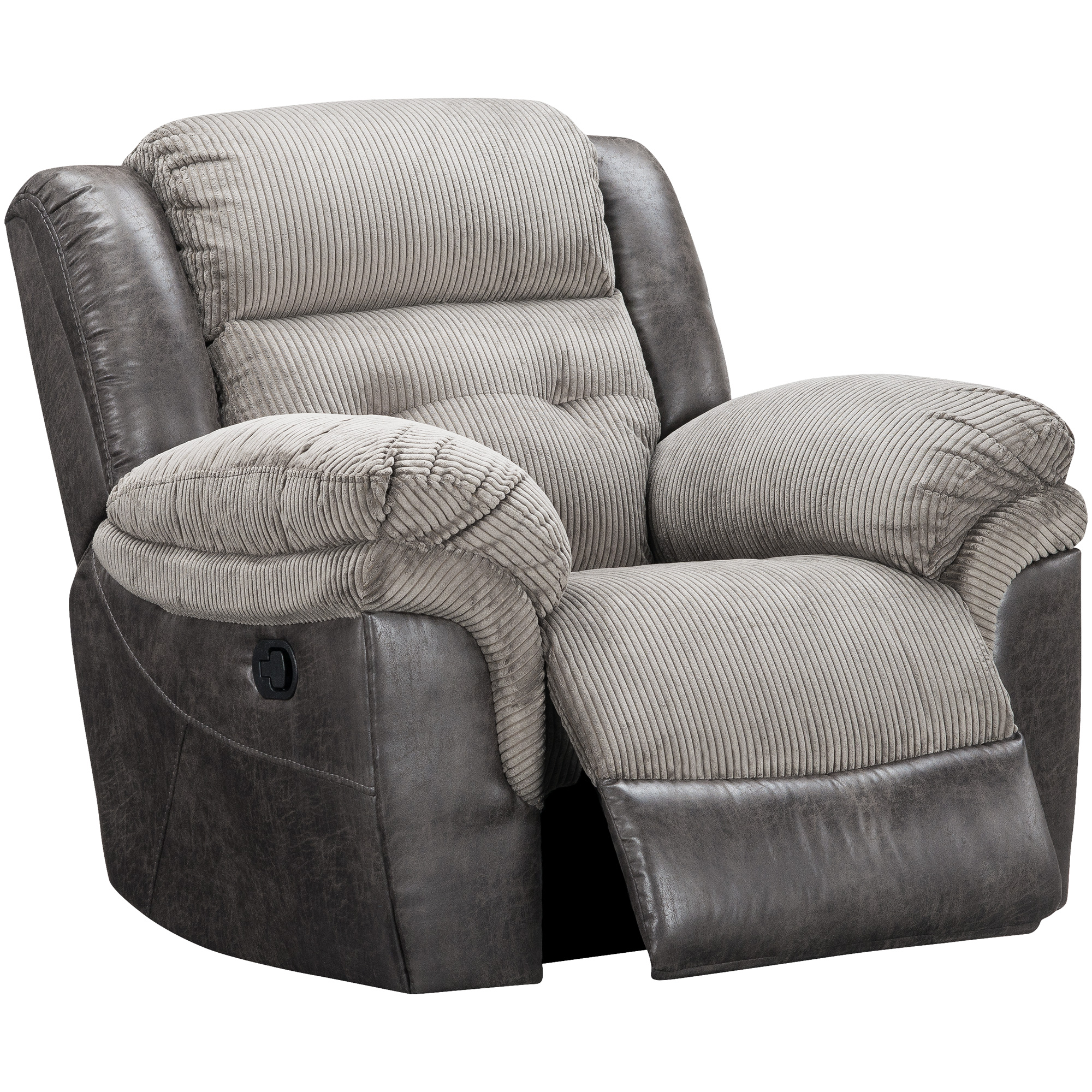 Wah Cheers | Dunkirk Steel Glider Chair Recliner