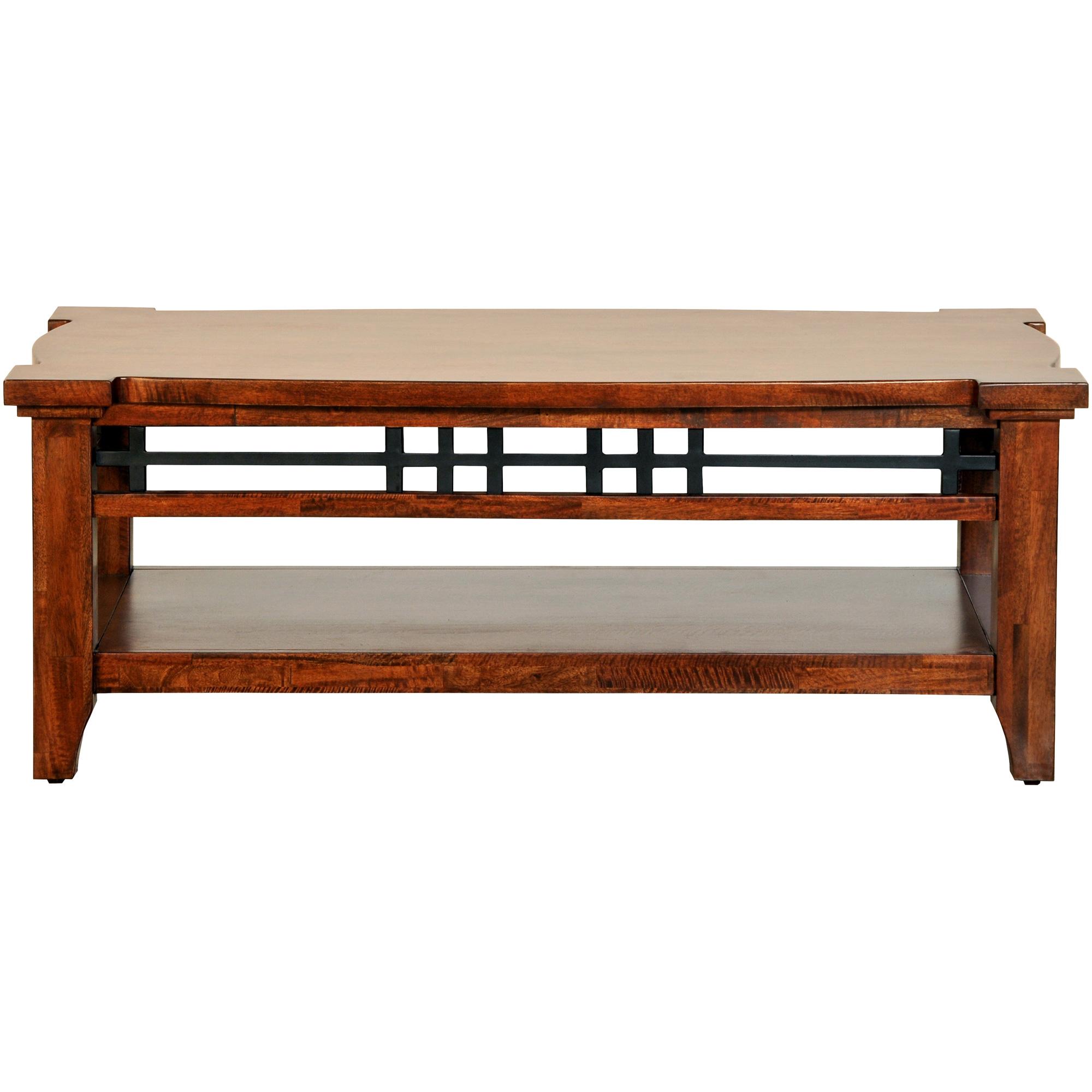 Napa Furniture | Whistler Retreat Dark Walnut Rectangle Coffee Table | Mango