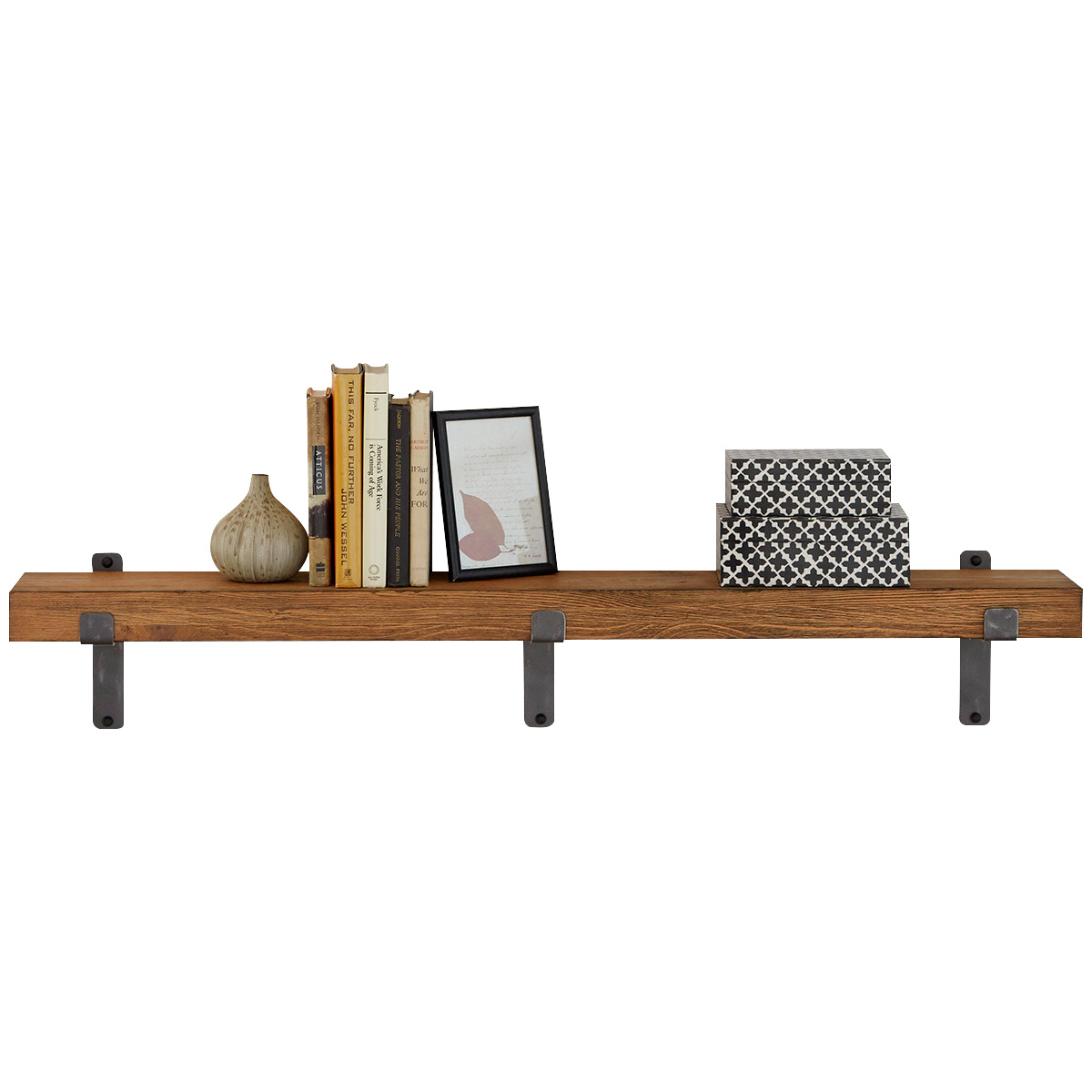 """Martin Furniture | Vintage Honey 48"""" Wall Shelf"""