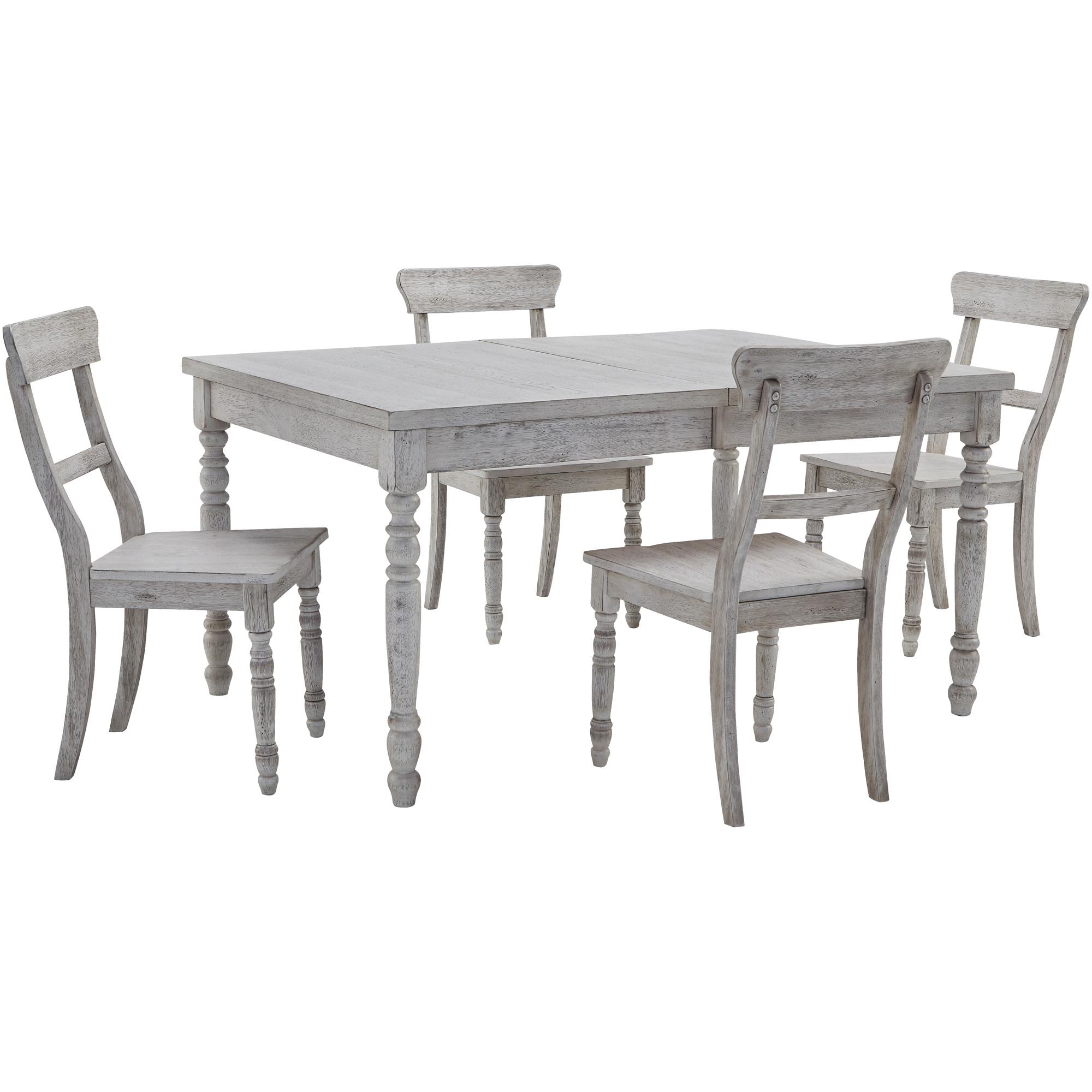 Progressive Furniture Inc. | Savannah Court Antique White 5 Piece Dining Set