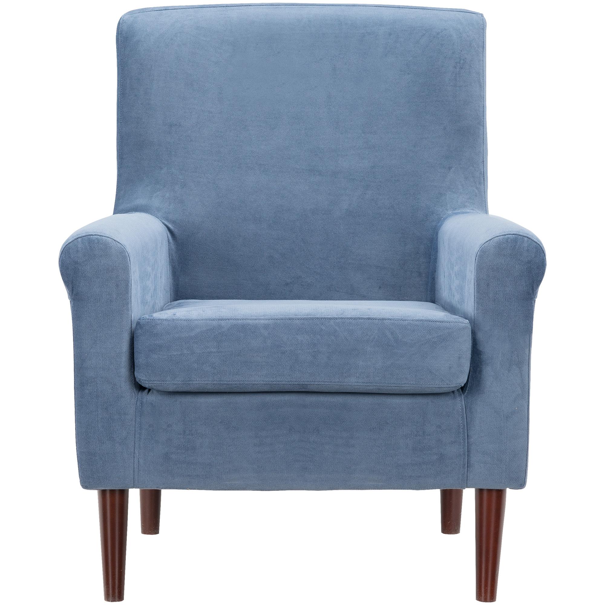 Overman | Ellis Navy Accent Chair