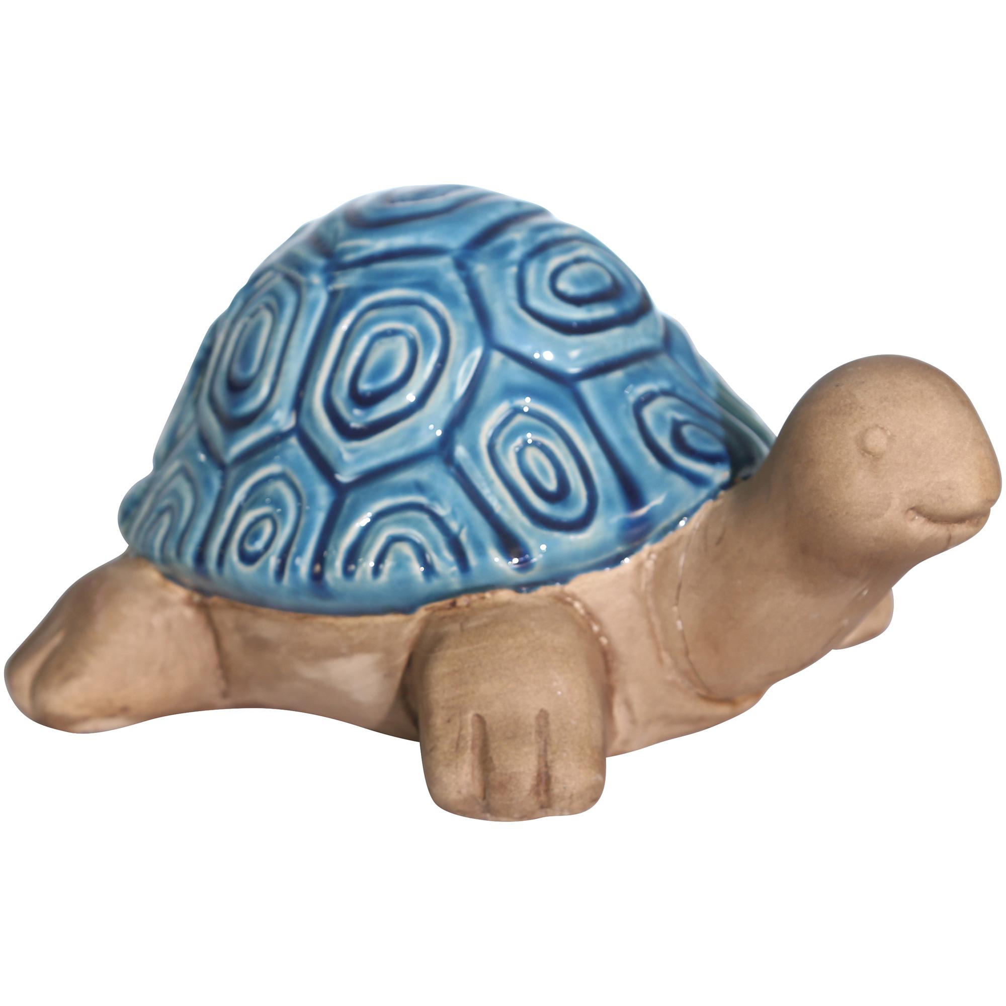 Sagebrook | Collected Culture Turquoise Ceramic Tortoise