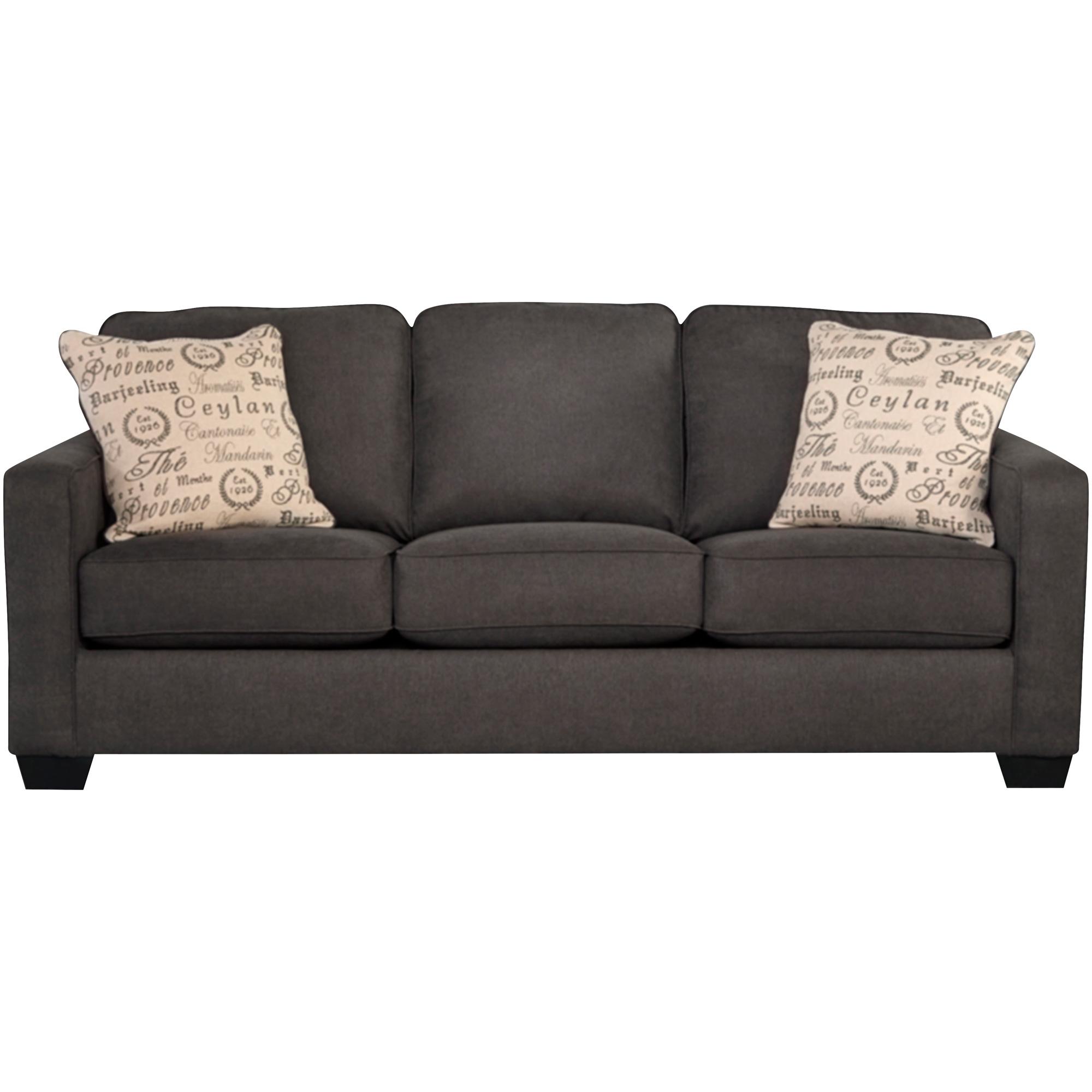Ashley Furniture | Alenya Charcoal Queen Sofa Sleeper