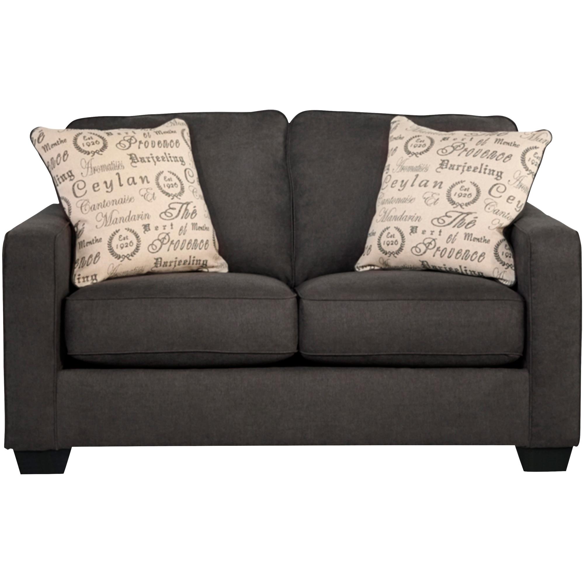 Ashley Furniture | Alenya Charcoal Loveseat Sofa