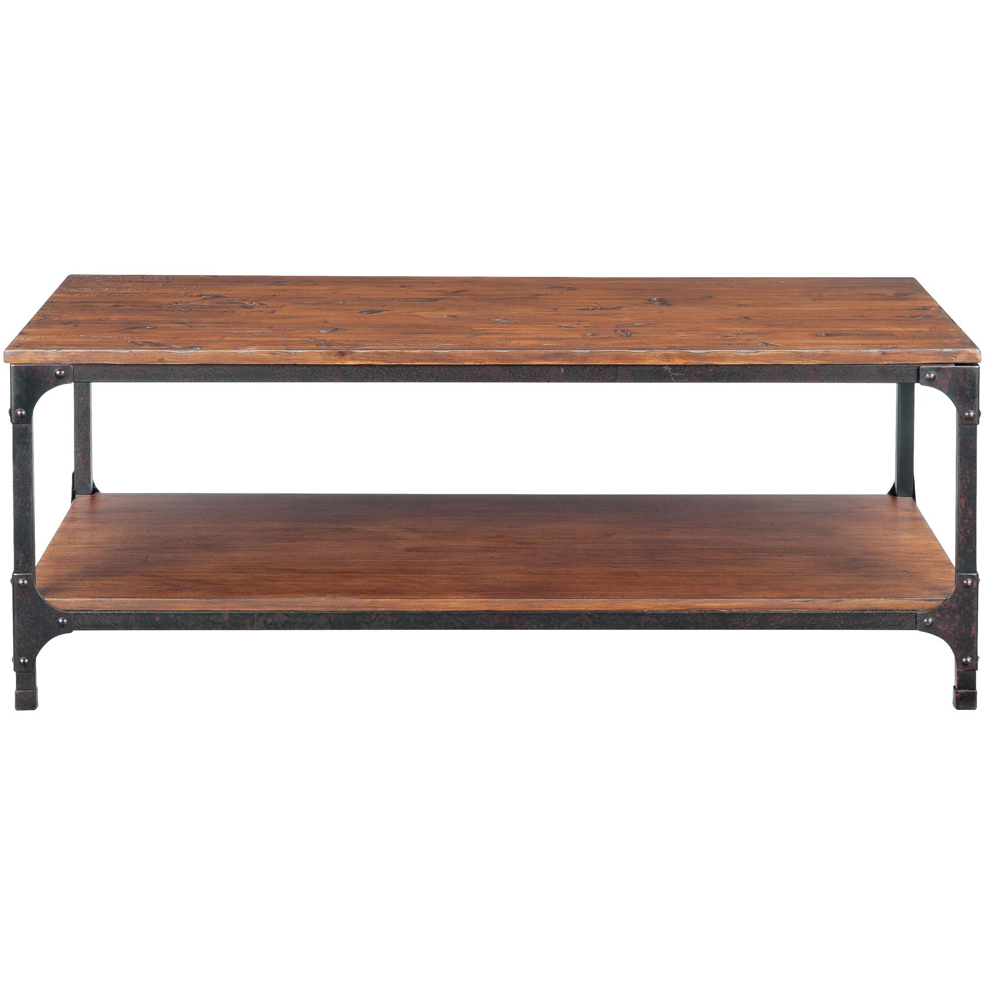 Jofran | Abbott Distressed Pine Rectangle Coffee Table