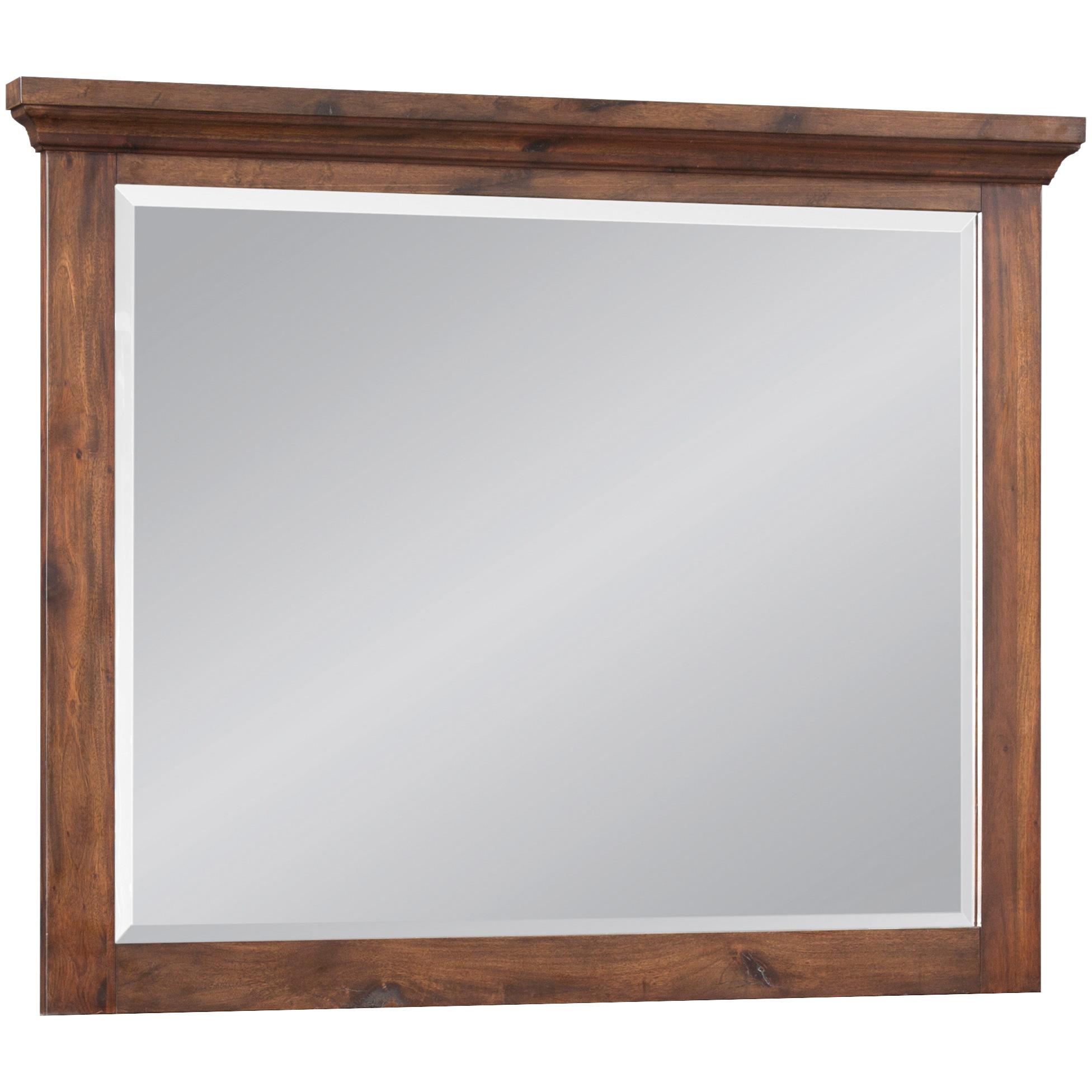 Napa Furniture   Hill Crest Dark Chestnut Mirror