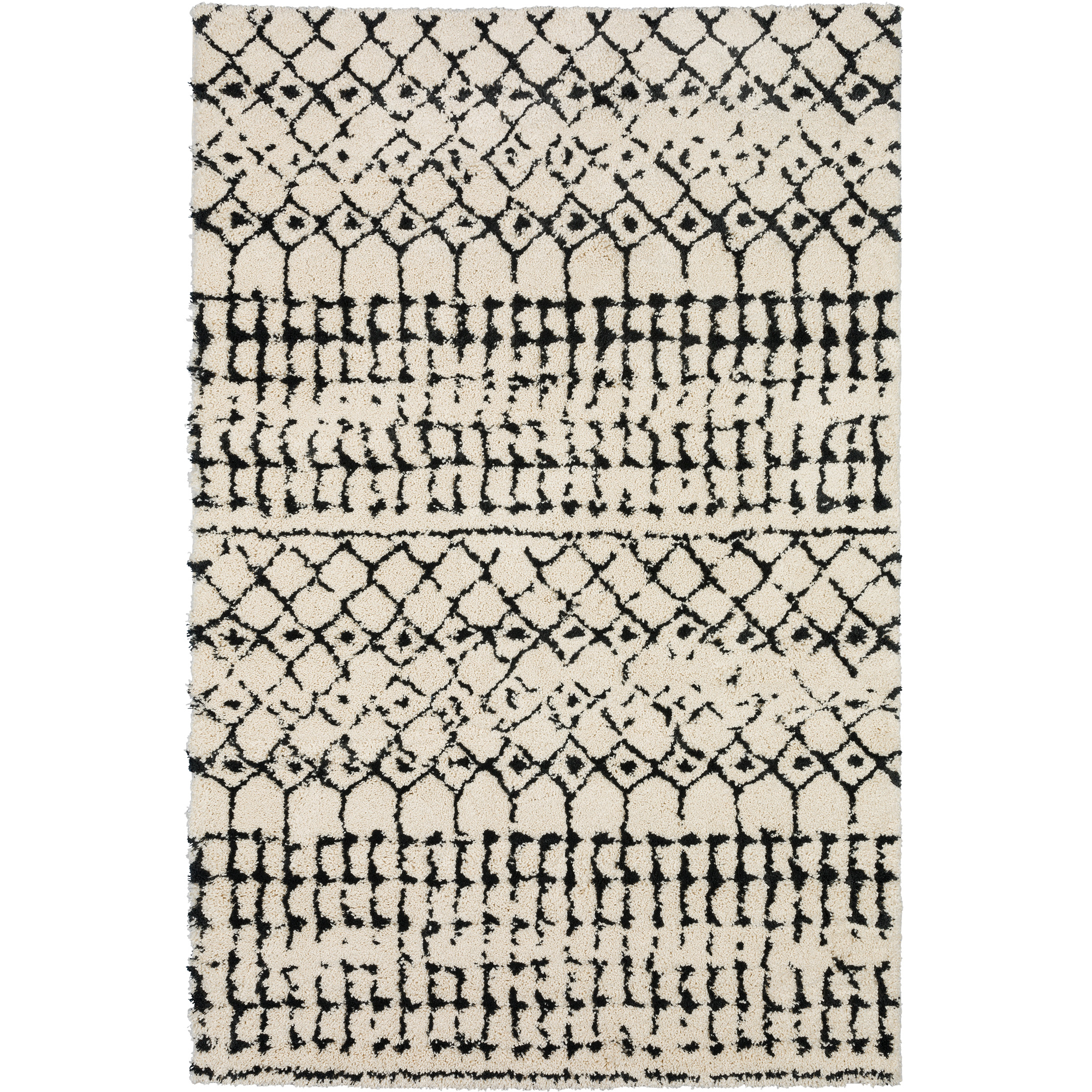 Dalyn Rug Company | Marquee Ivory And Midnight 5x8 Area Rug