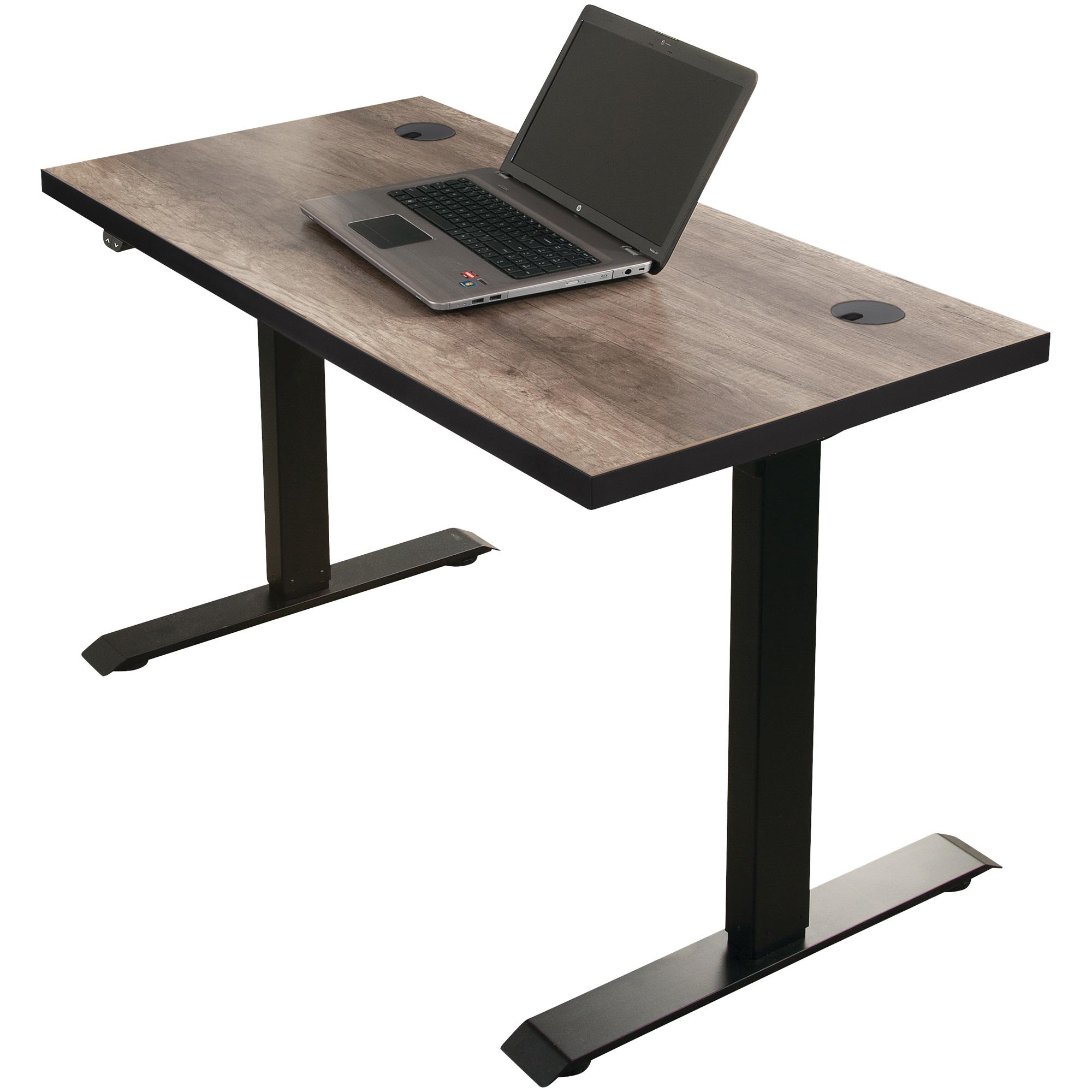 Martin Furniture | Streamline Brown Adjustable Height Desk