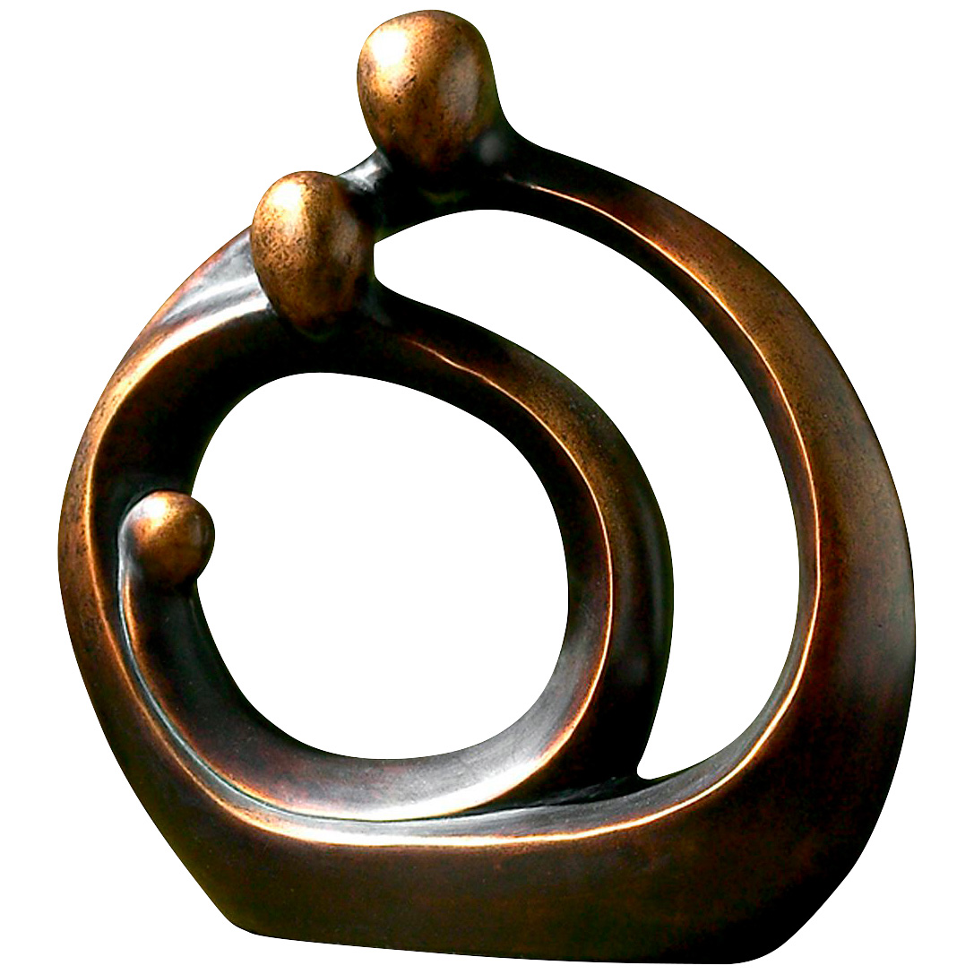 Uttermost | Family Circles Bronze Figurine