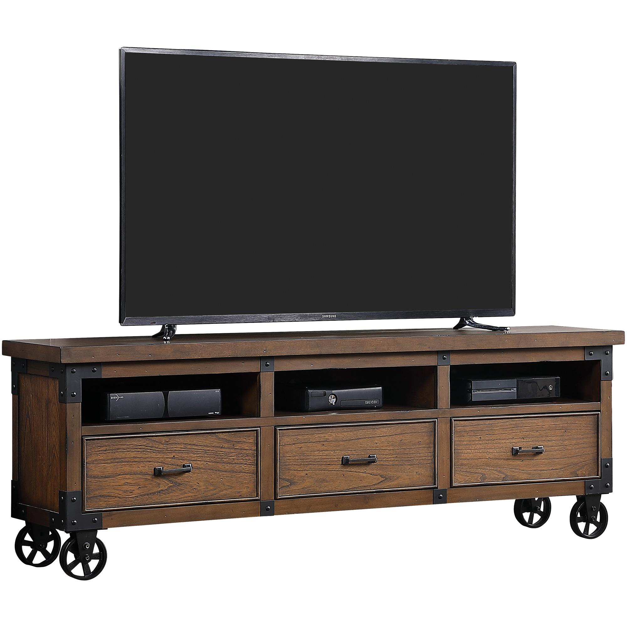 """Martin Furniture | Addison Auburn 76"""" Console Table"""