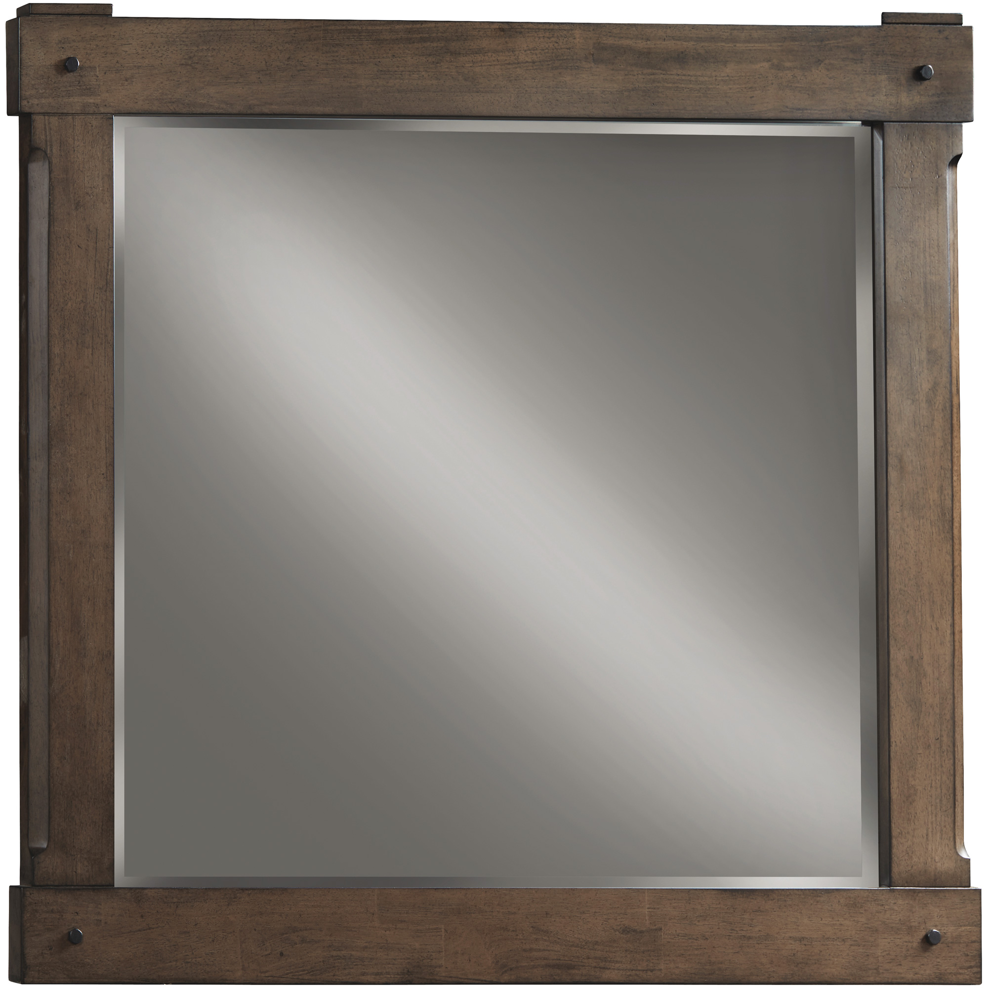 Davis Direct | Patches Gray Brown Landscape Mirror