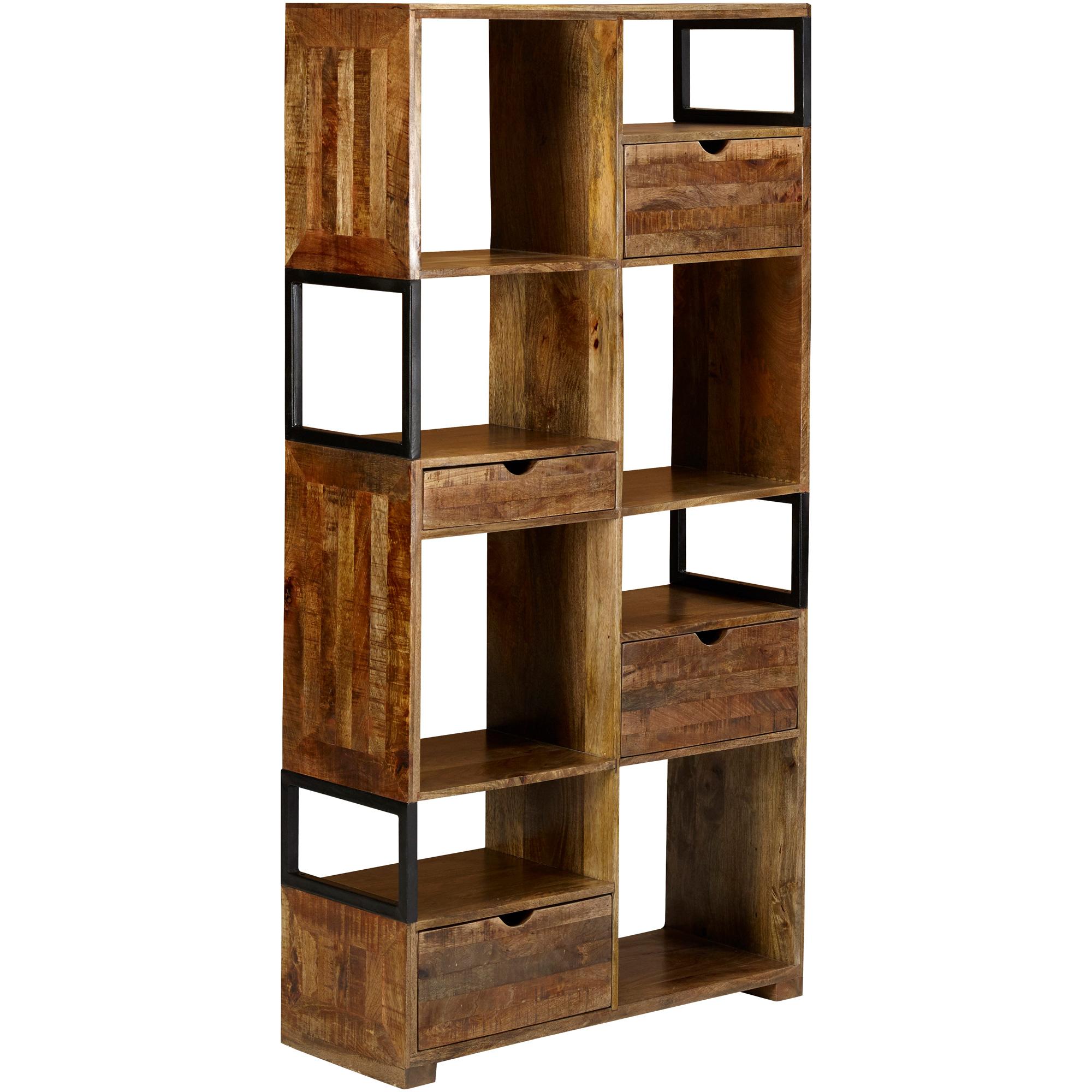 Jaipur Home LLC | Urban Composition Brown 4 Drawer Cabinet