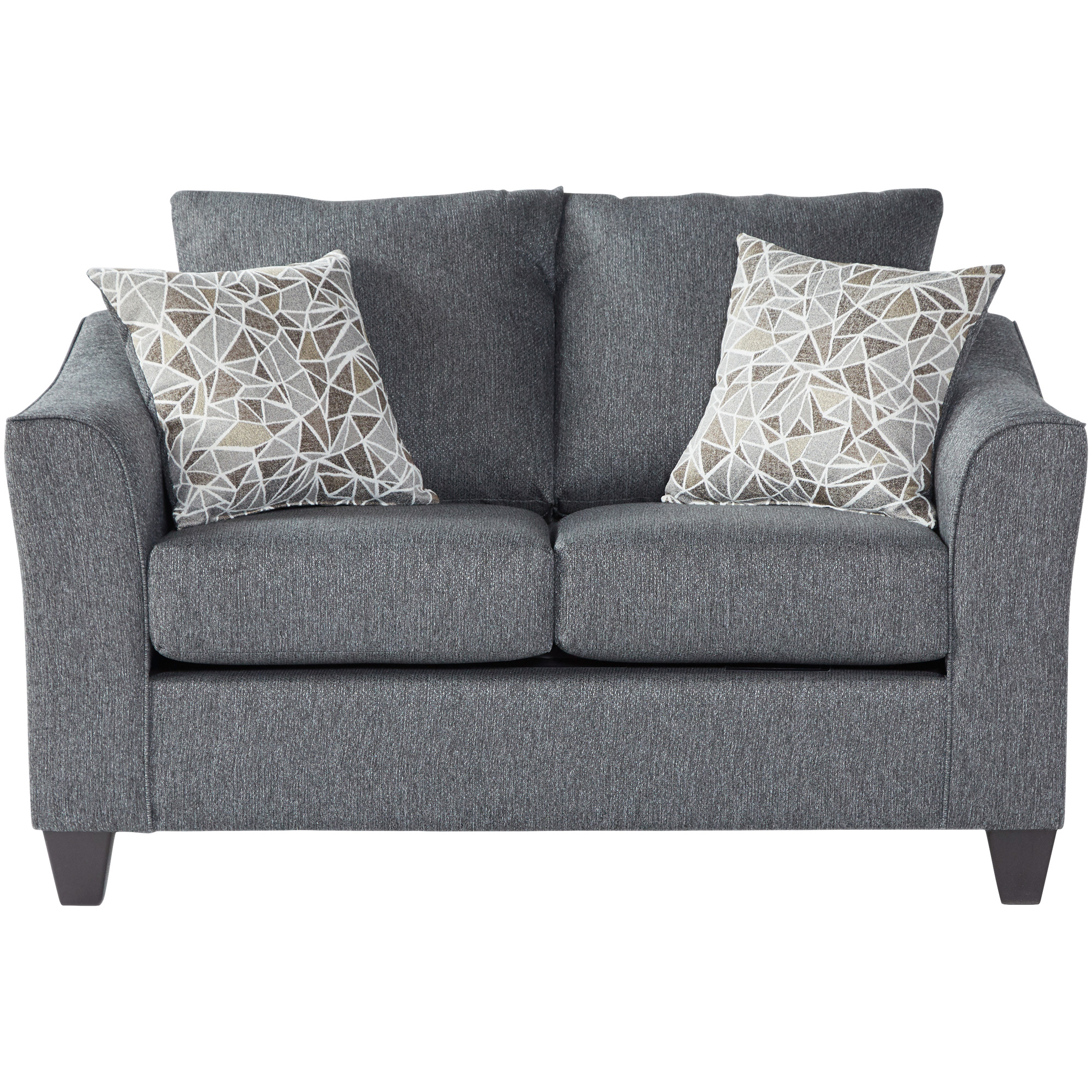 Serta Upholstery By Hughes Furniture | Bolt Granite Loveseat Sofa