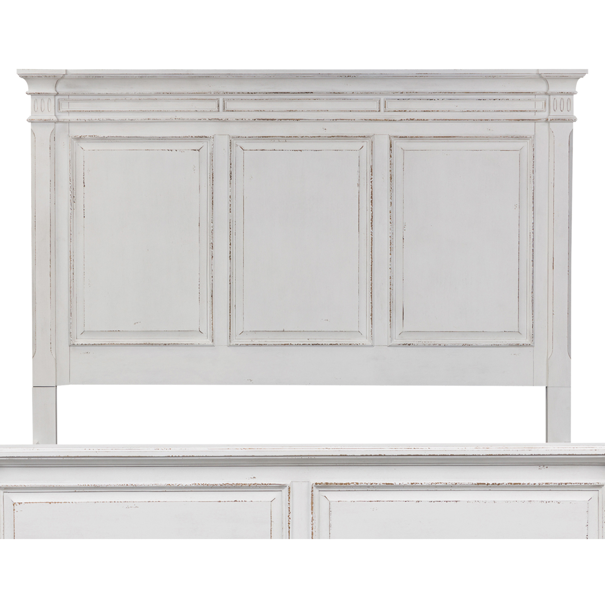 Liberty Furniture | Abbey Park White King Panel Headboard