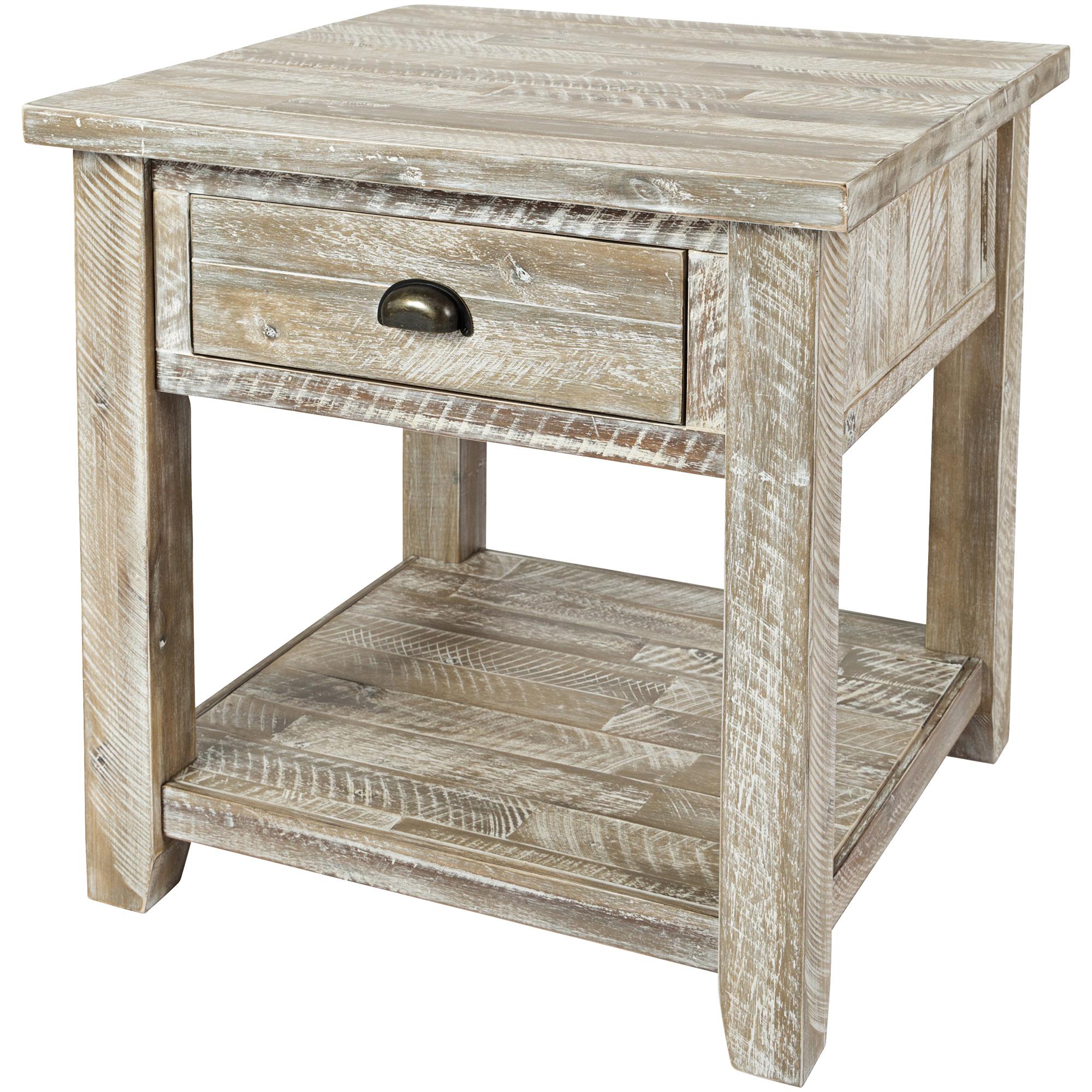 Jofran | Artisans Craft Gray Wash End Table