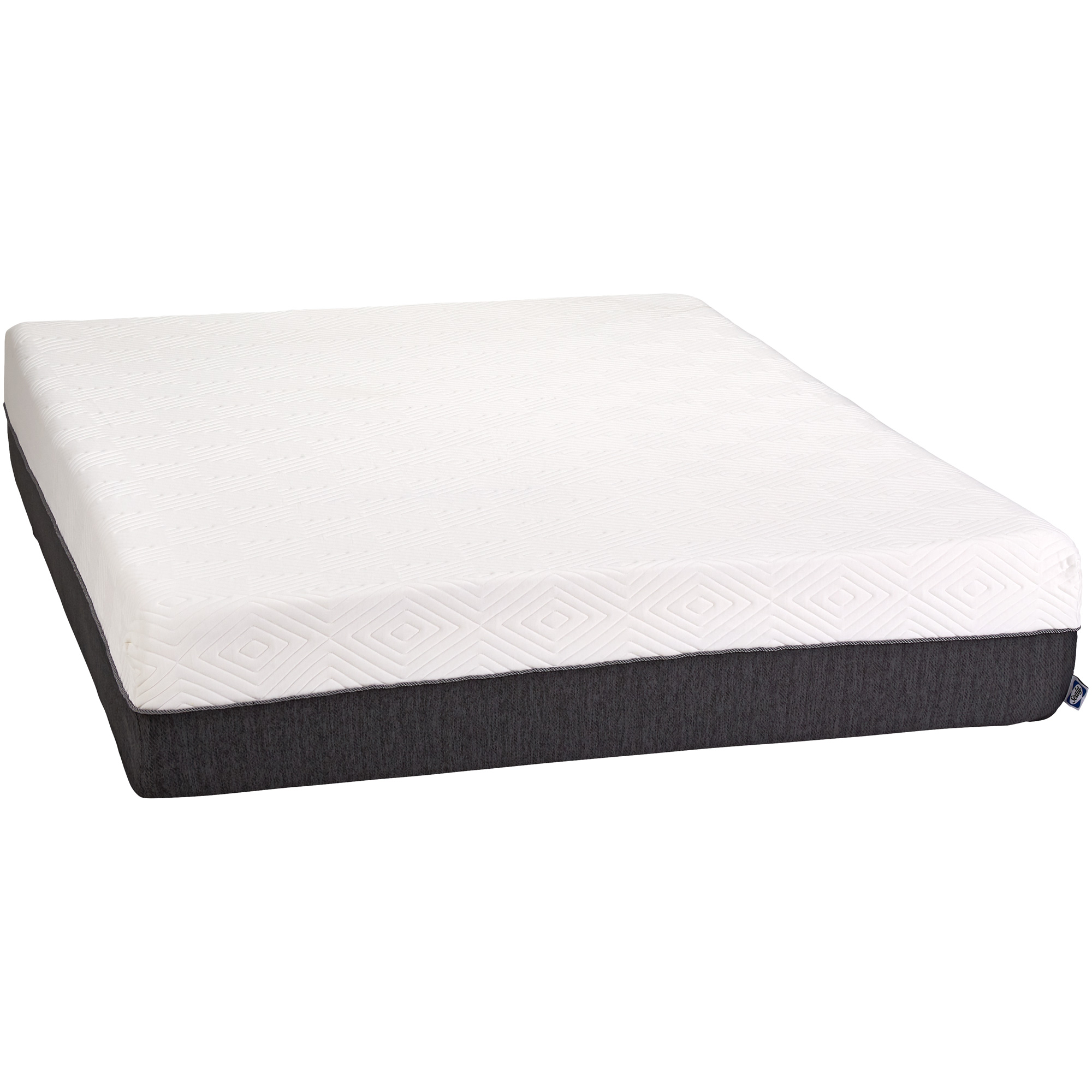 """Slumbercrest 12"""" Memory Foam King Mattress in a Box"""