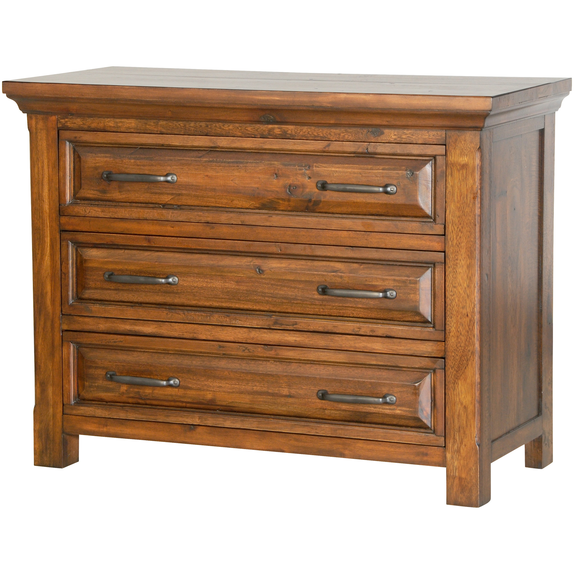 Napa Furniture   Hill Crest Dark Chestnut Media Chest