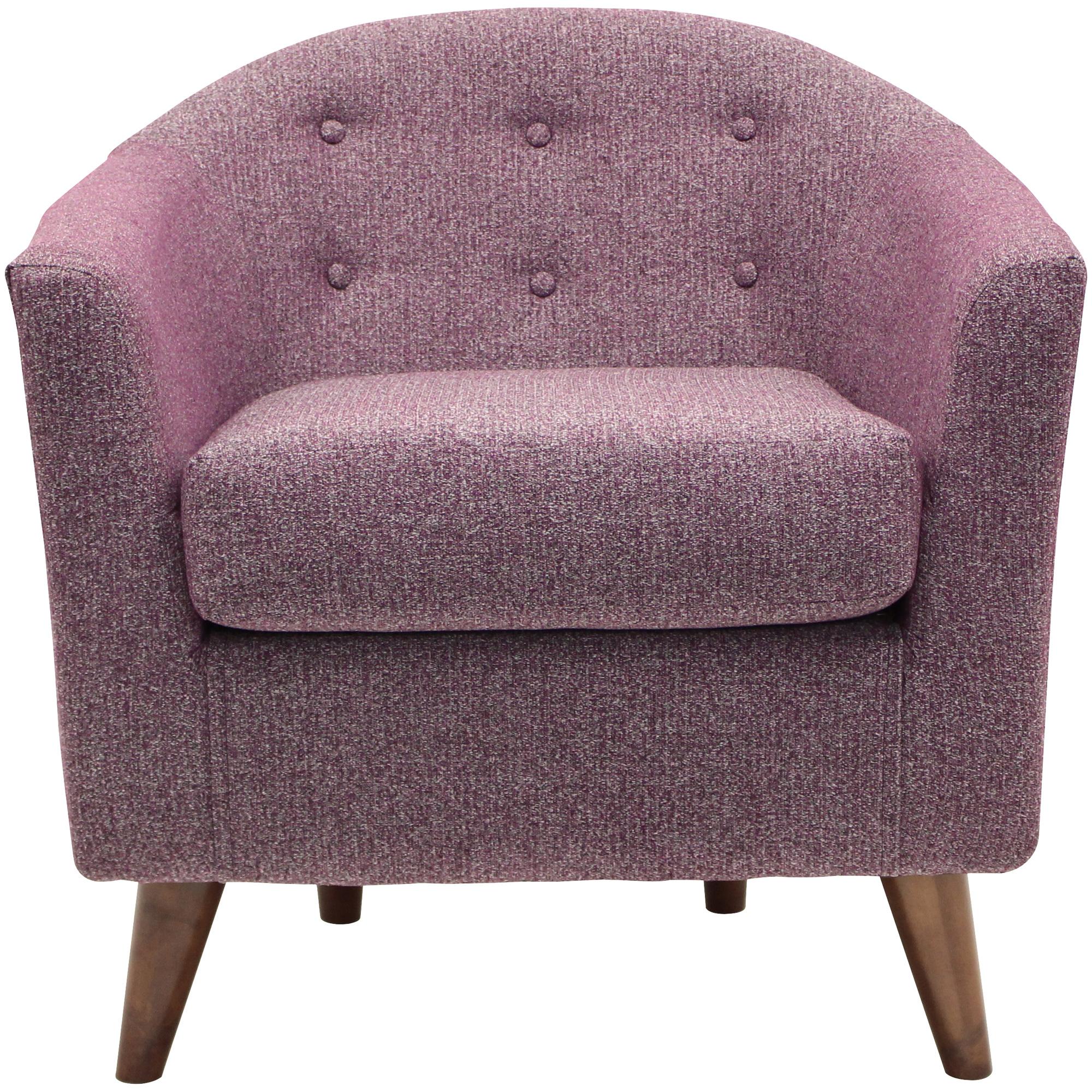 Overman | Marissa Plum Accent Chair
