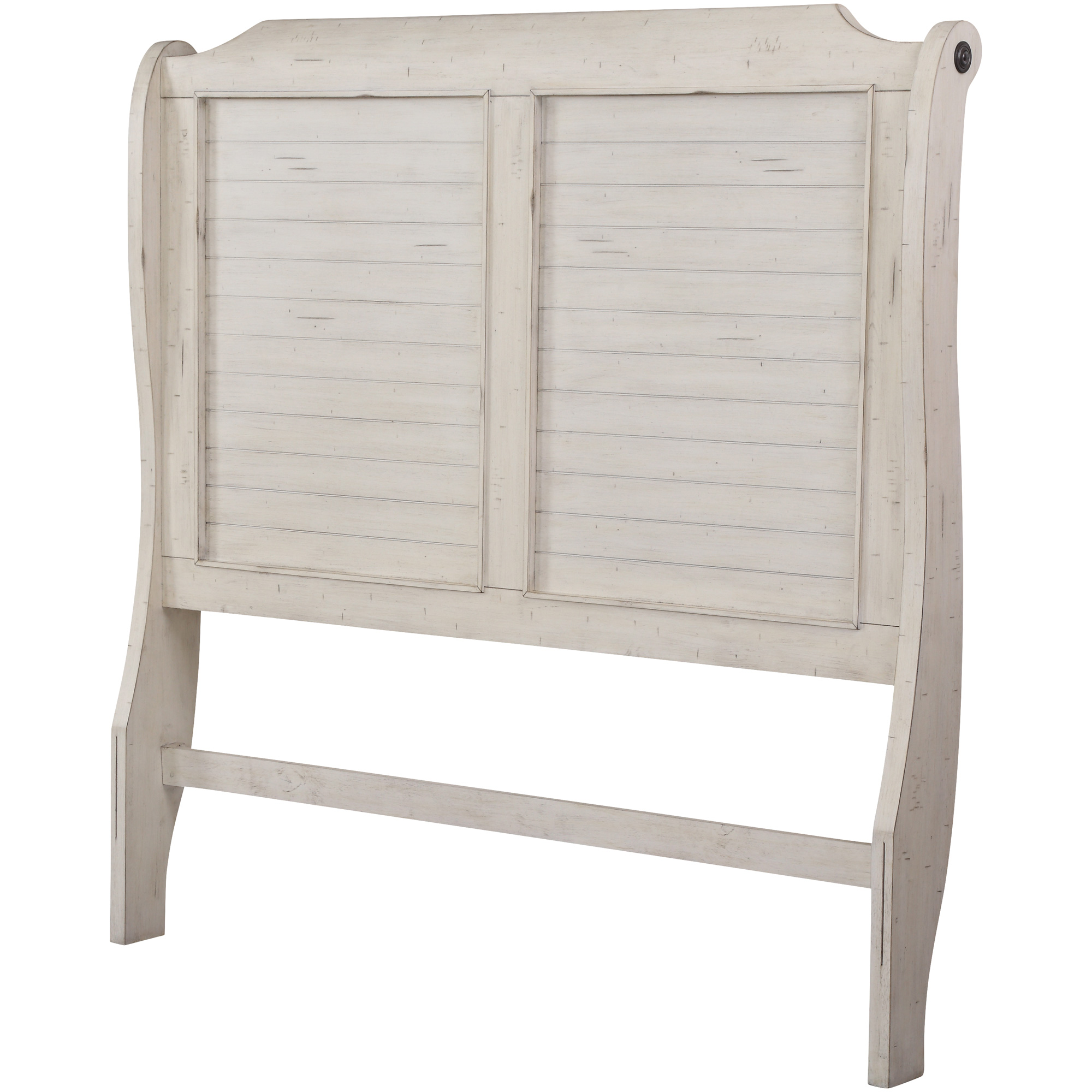 Lifestyle Enterprise | Bay Ridge White King Headboard