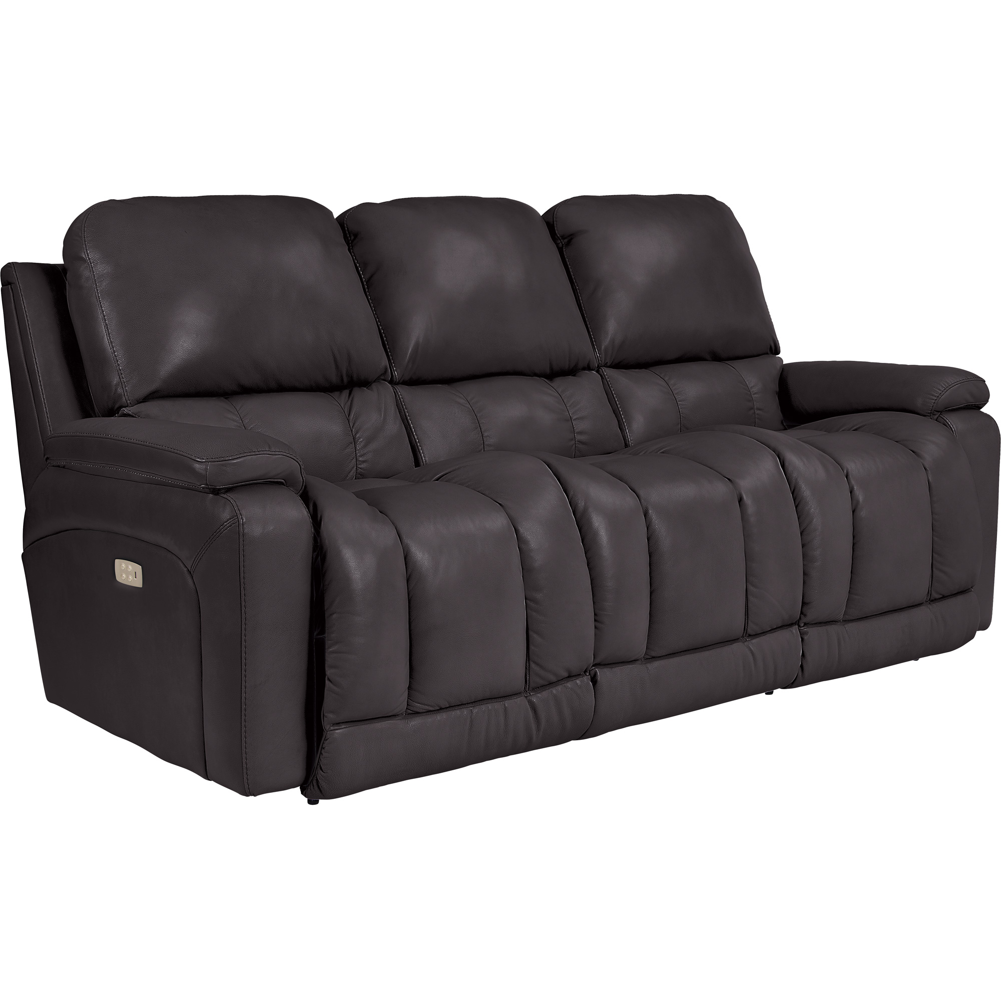 La-Z-Boy | Greyson Chocolate Power Plus Reclining Sofa