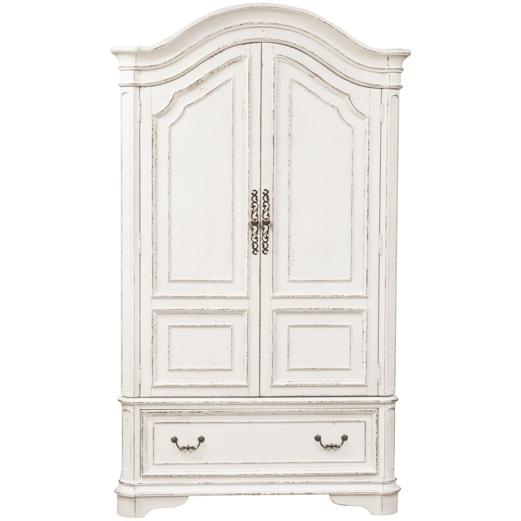 Liberty Furniture | Magnolia Manor White Armoire