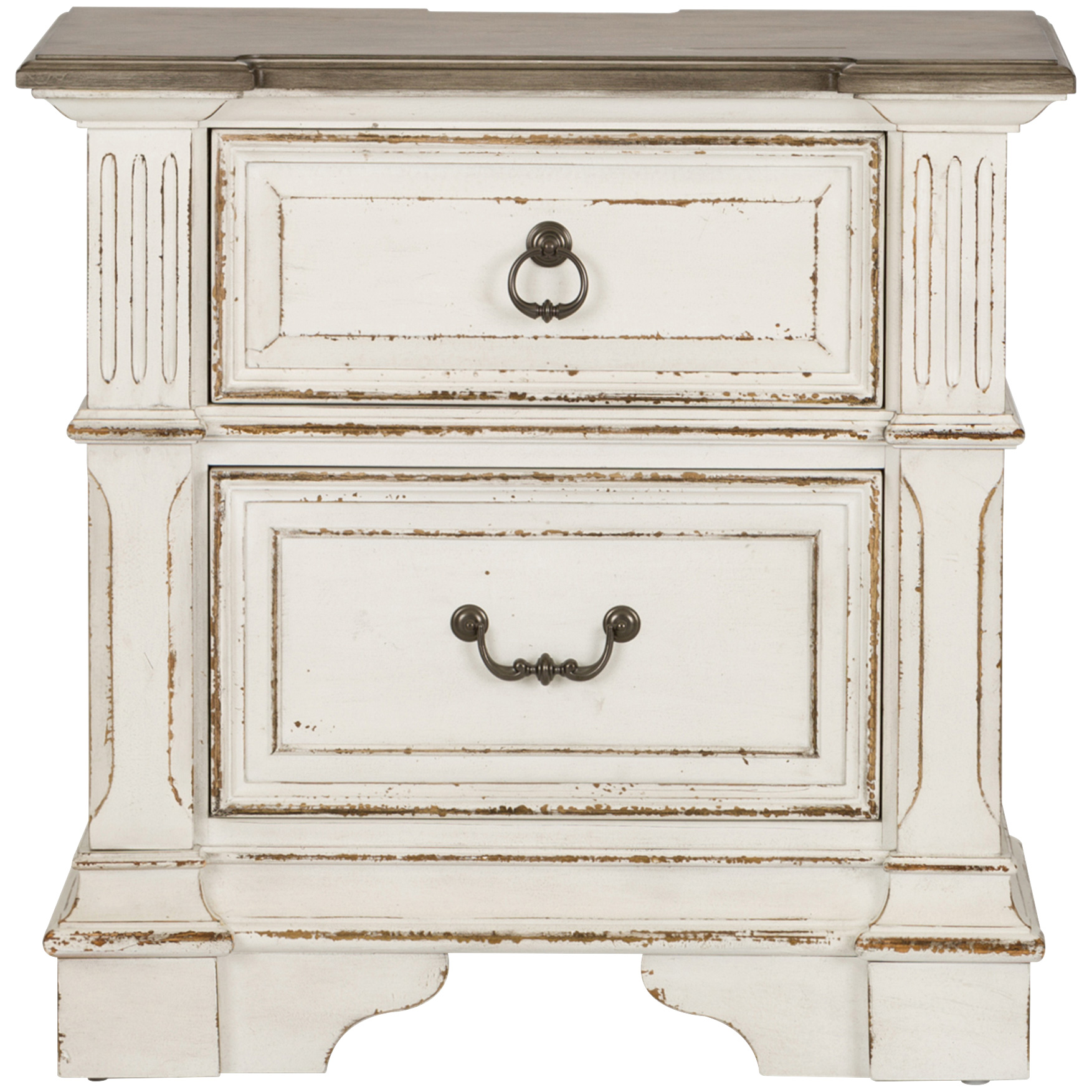 Liberty Furniture | Abbey Park White Nightstand