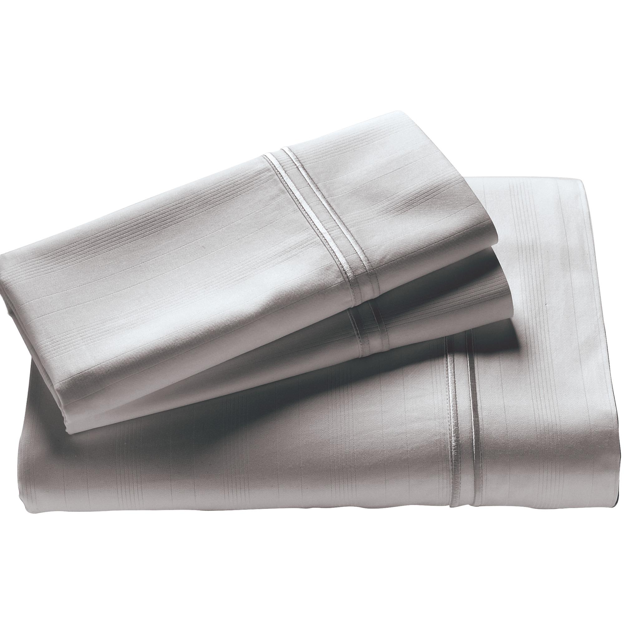 Purecare | Elements Dove Gray Split King Bamboo Sheet Set