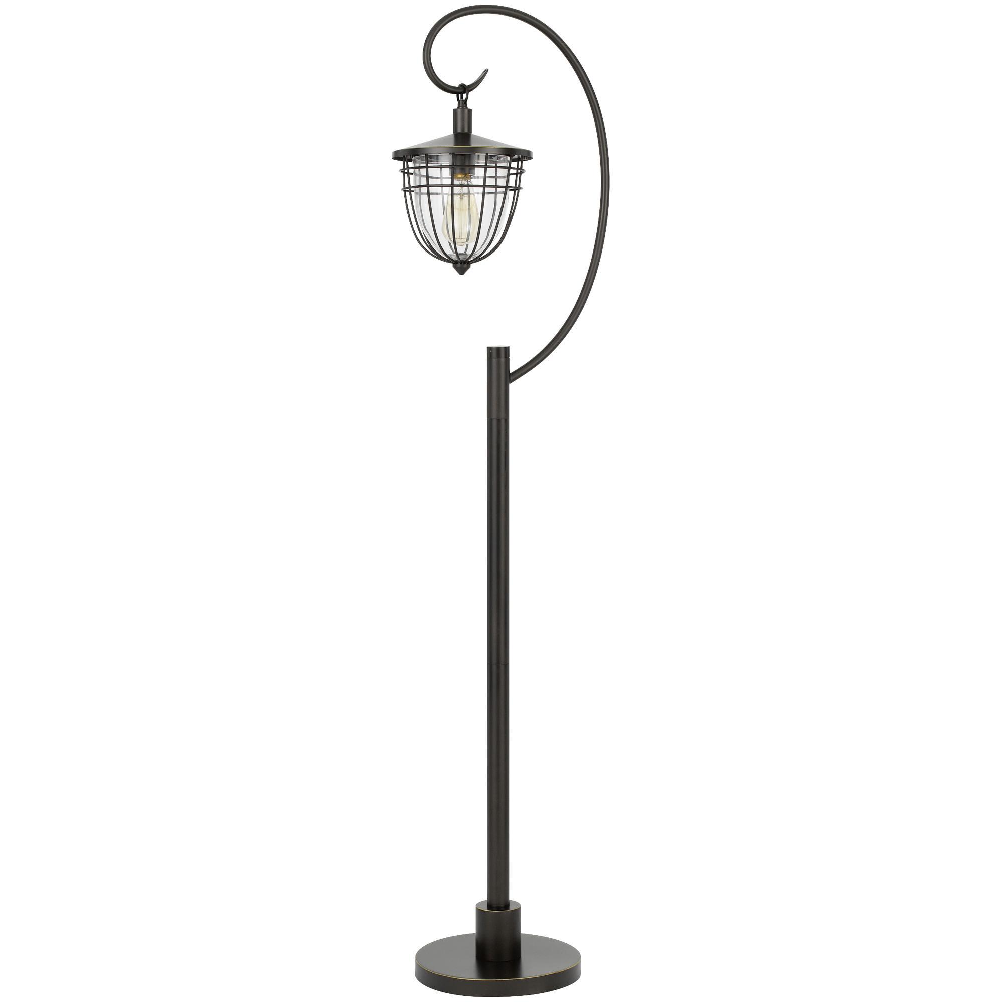 Cal Lighting | Alma Dark Bronze Floor Lamp