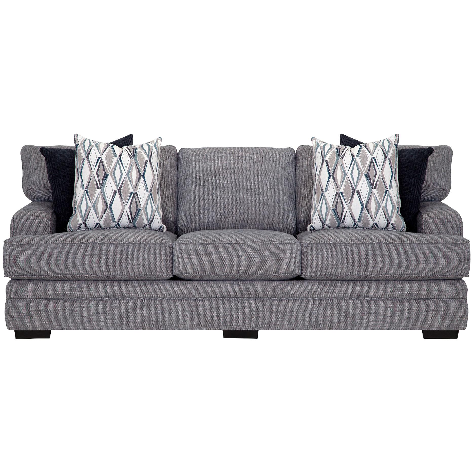 Franklin | Crowes Denim Sofa