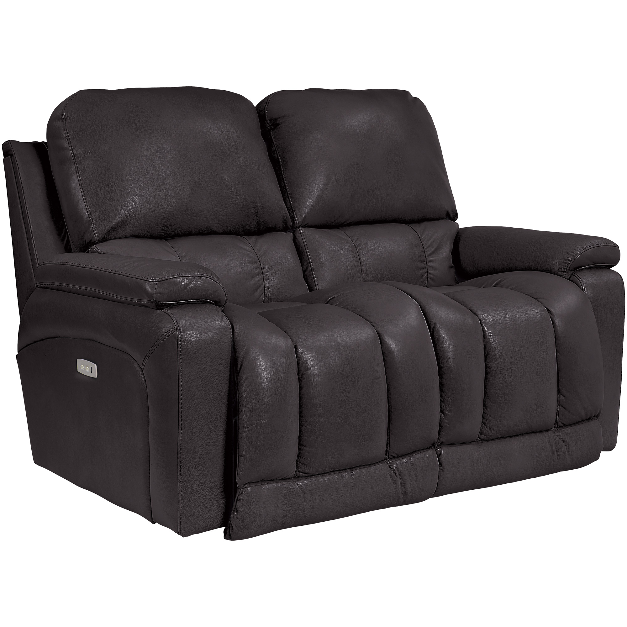 La-Z-Boy | Greyson Chocolate Power Reclining Loveseat Sofa