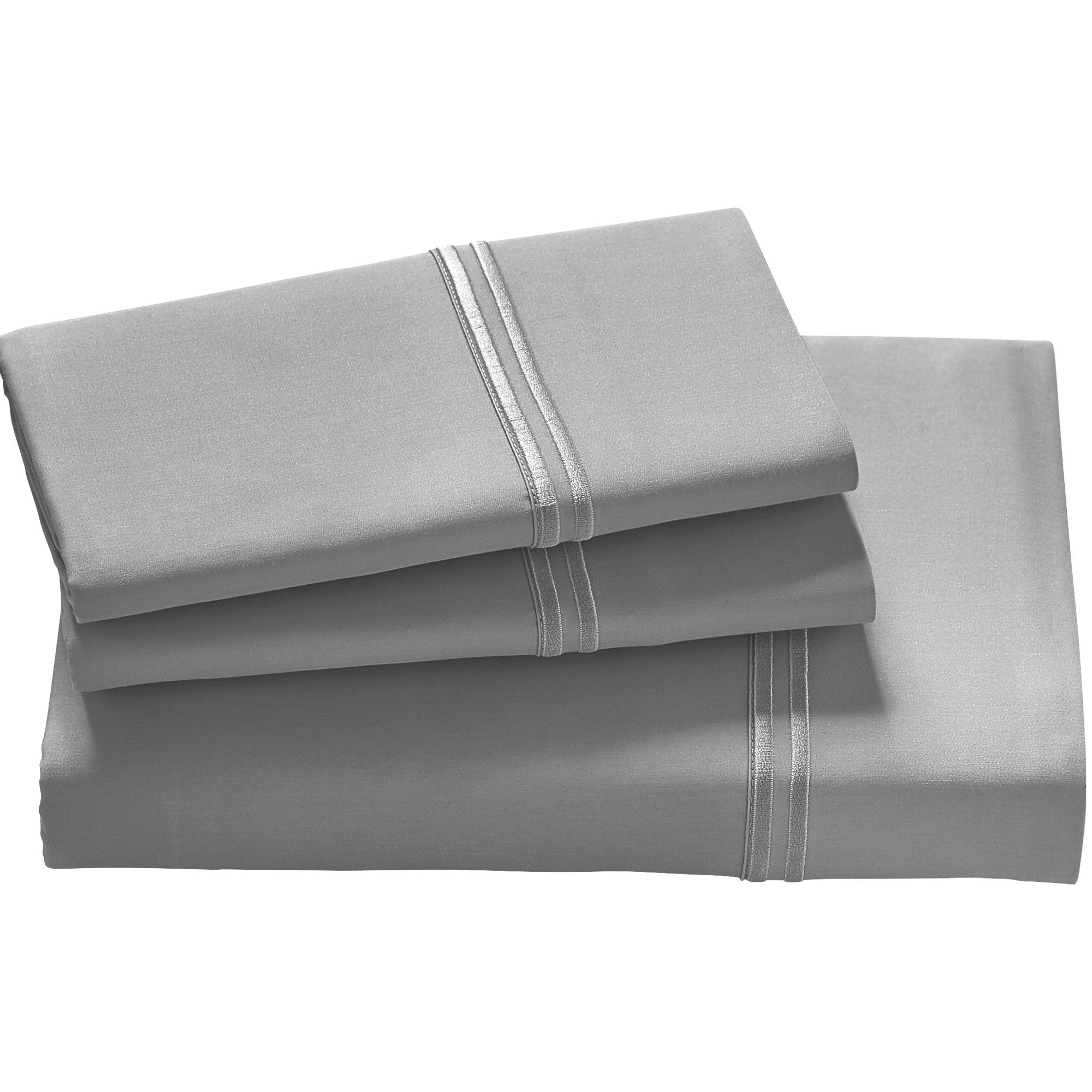 Purecare | Elements Dove Gray Split California King Tencel Sheet Set