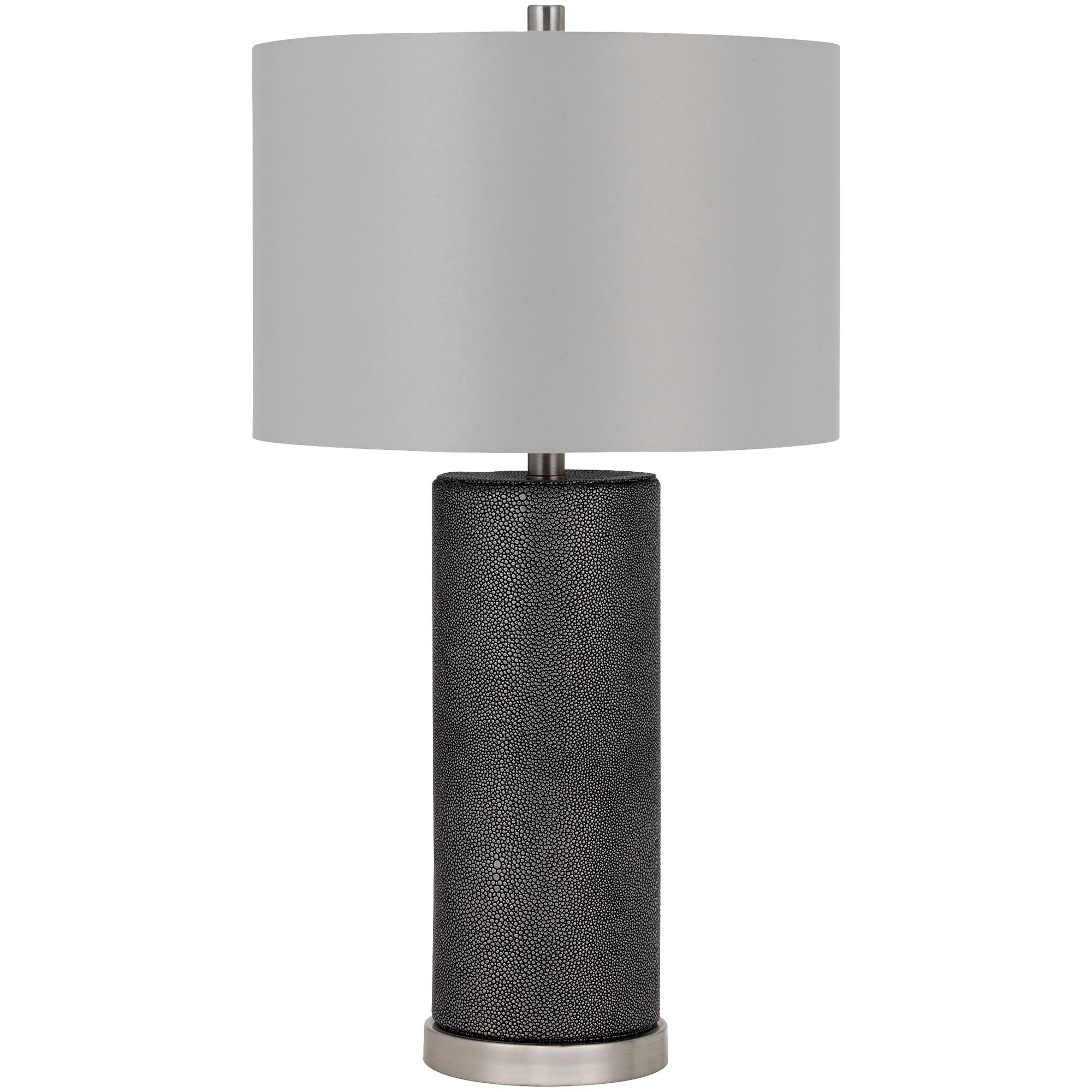 Cal Lighting | Graham Black Floor Lamp