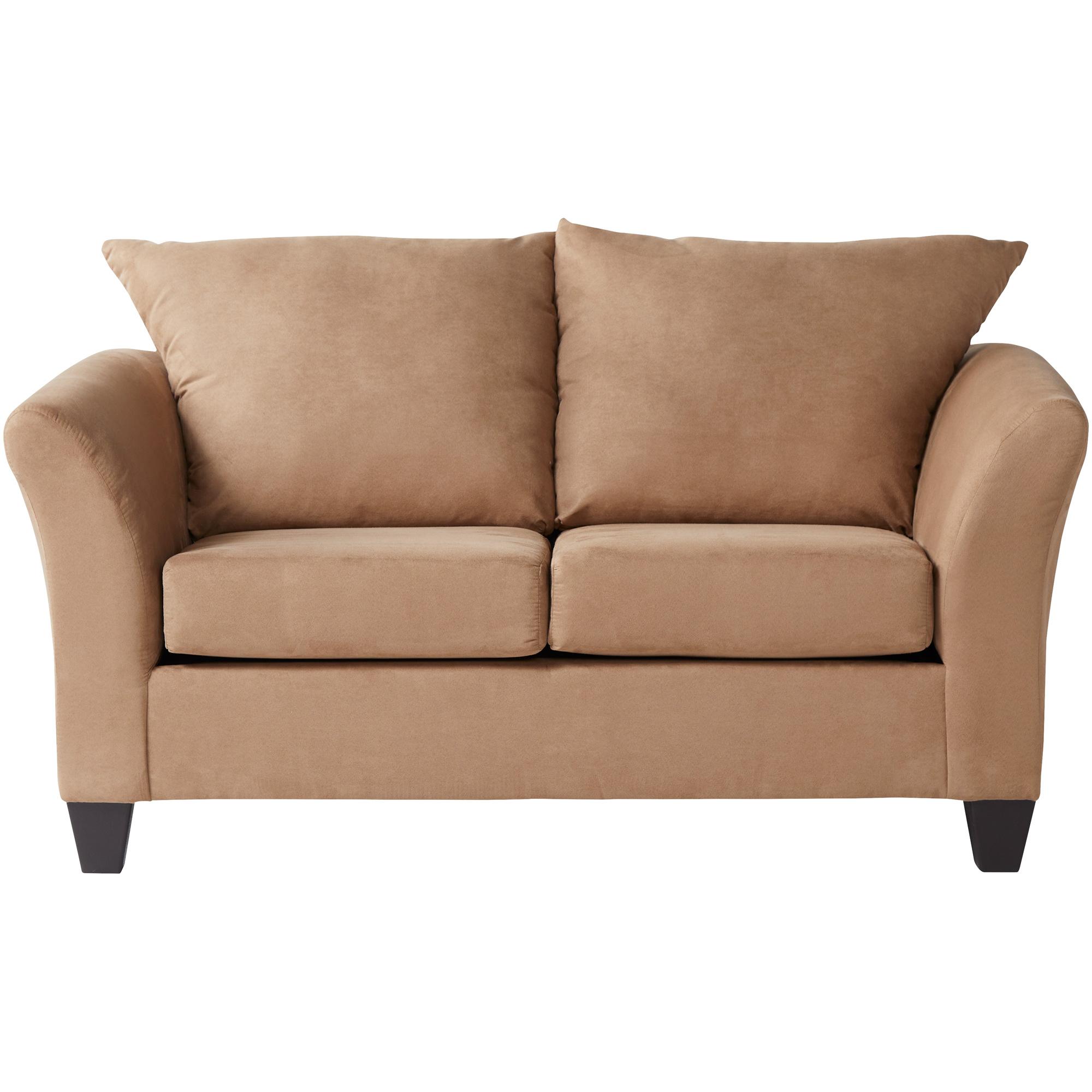 Serta Upholstery By Hughes Furniture | Buster Mocha Loveseat Sofa