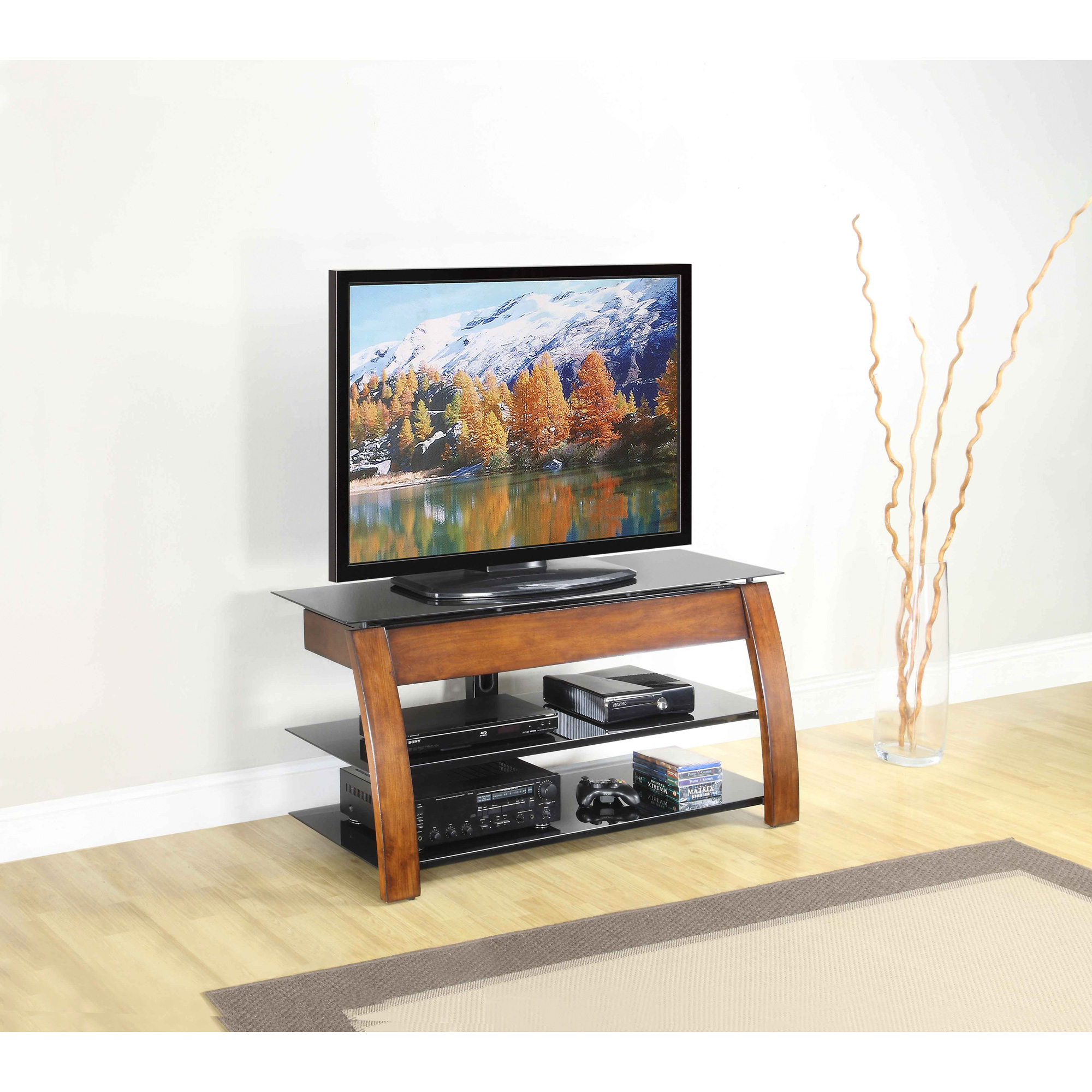 Apam | Sunray Brown 3 In 1 Console Table