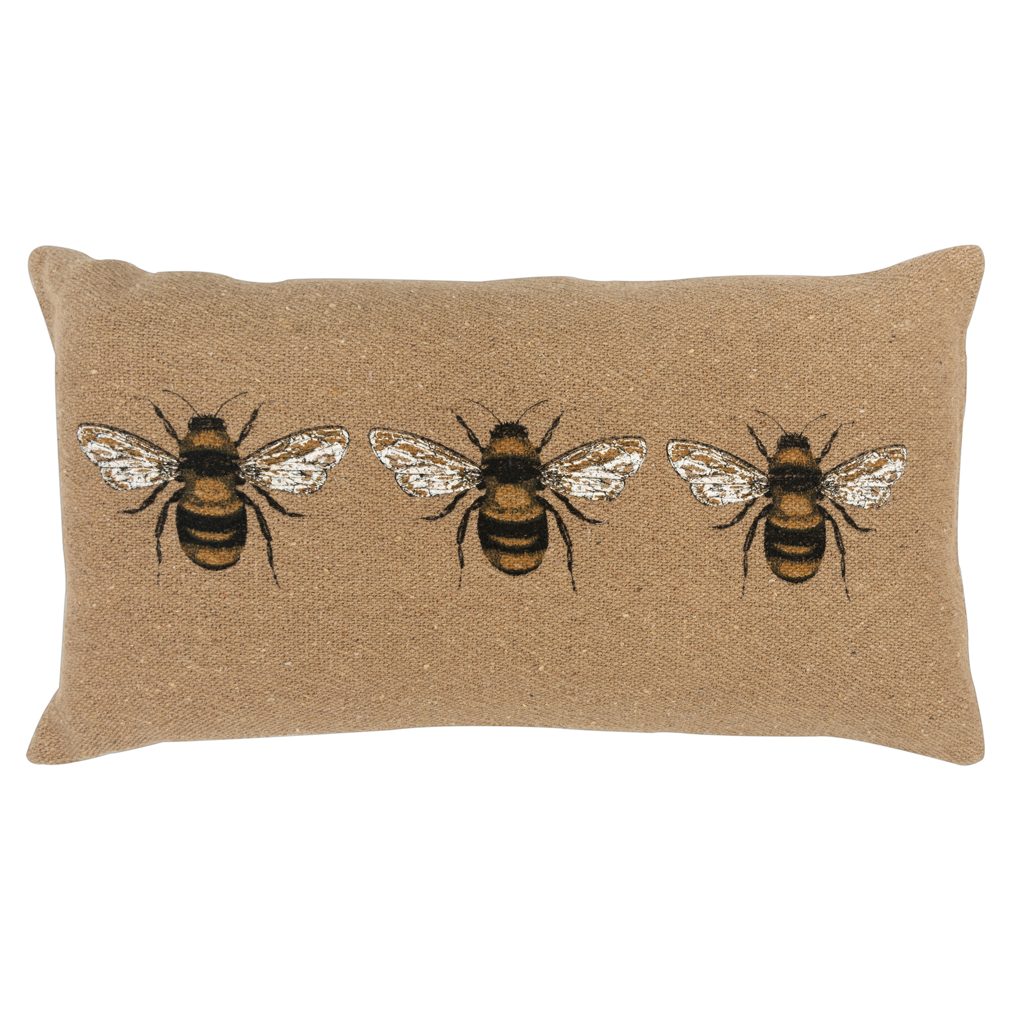 Rizzy Home | Bees Natural Pillow