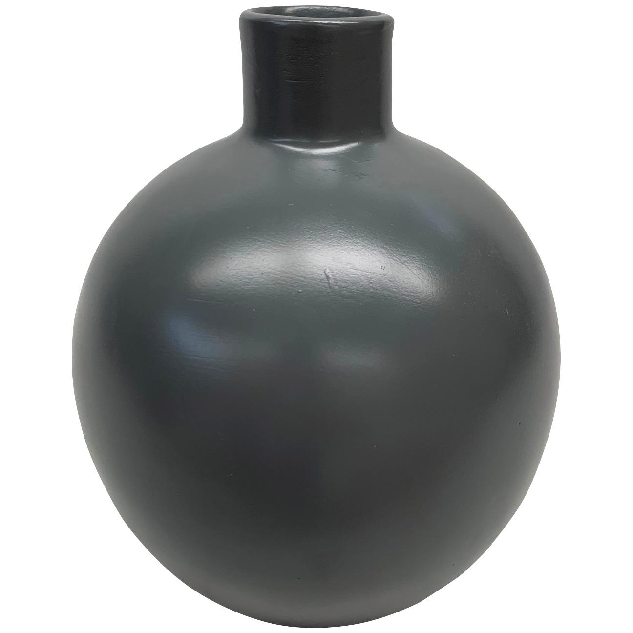 Promart | Terracotta Florero Gray Medium Sphere Vase