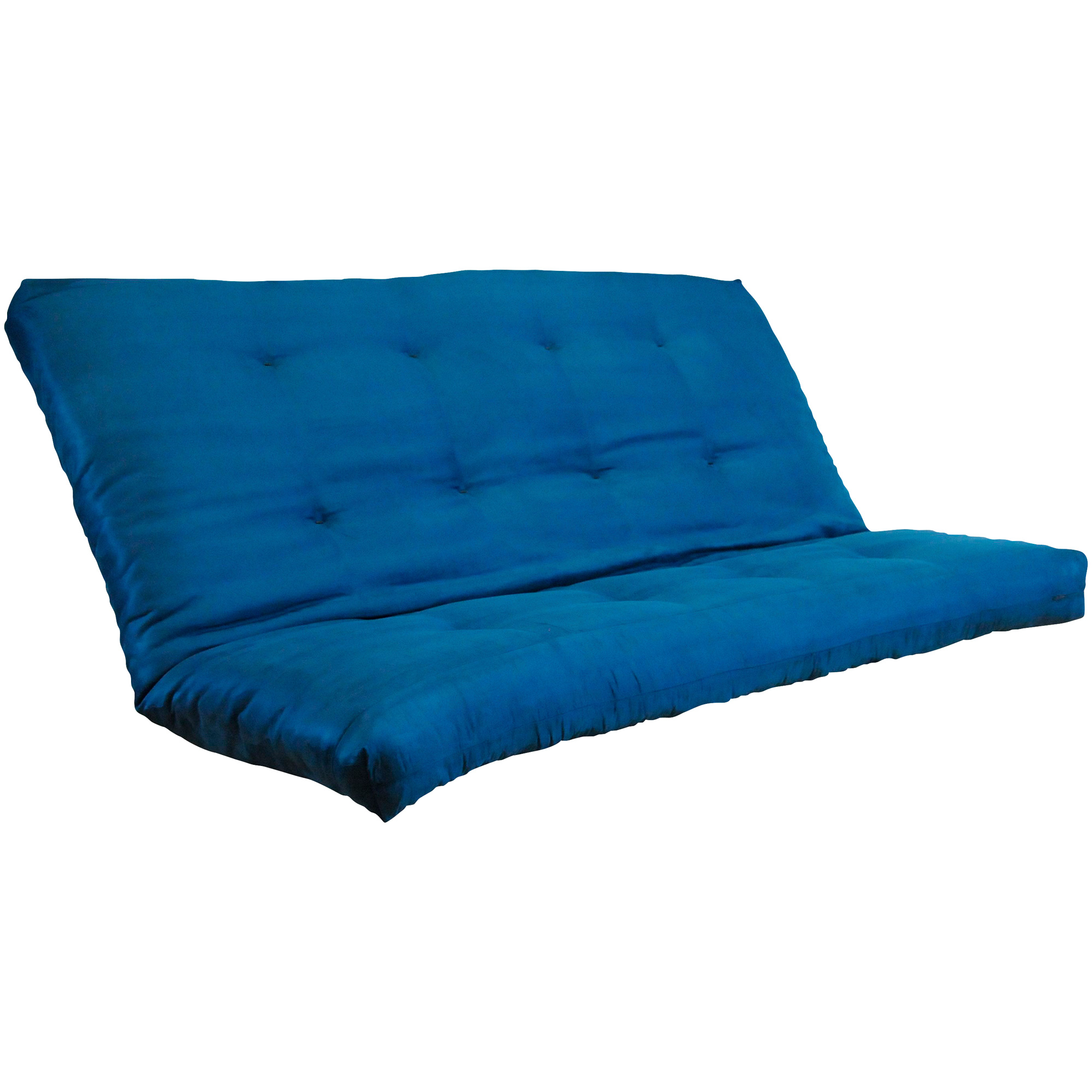 Kodiak Furniture | Microsuede Navy Queen Futon Mattress