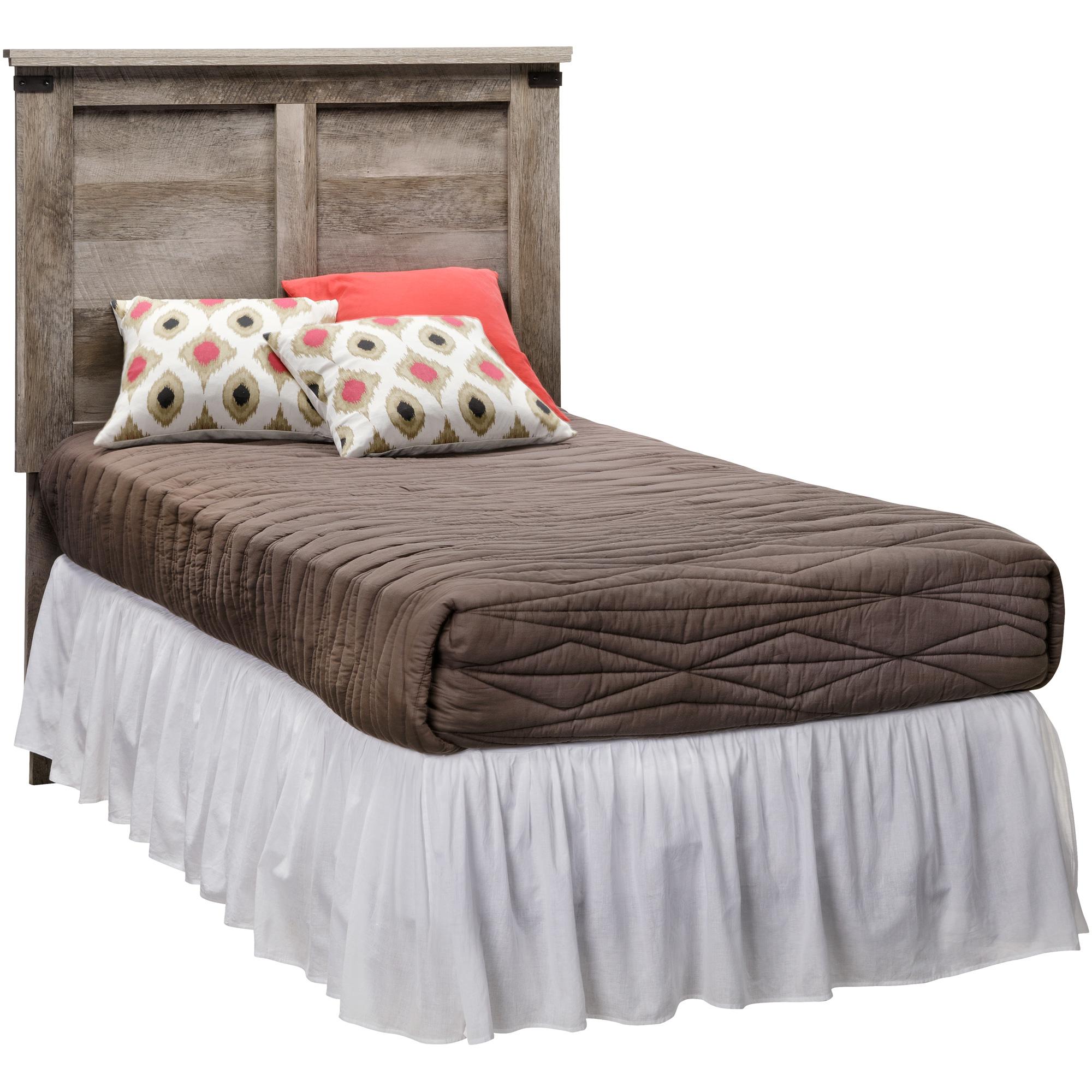 Kith Furniture | Gambrel Driftwood Twin Panel Headboard