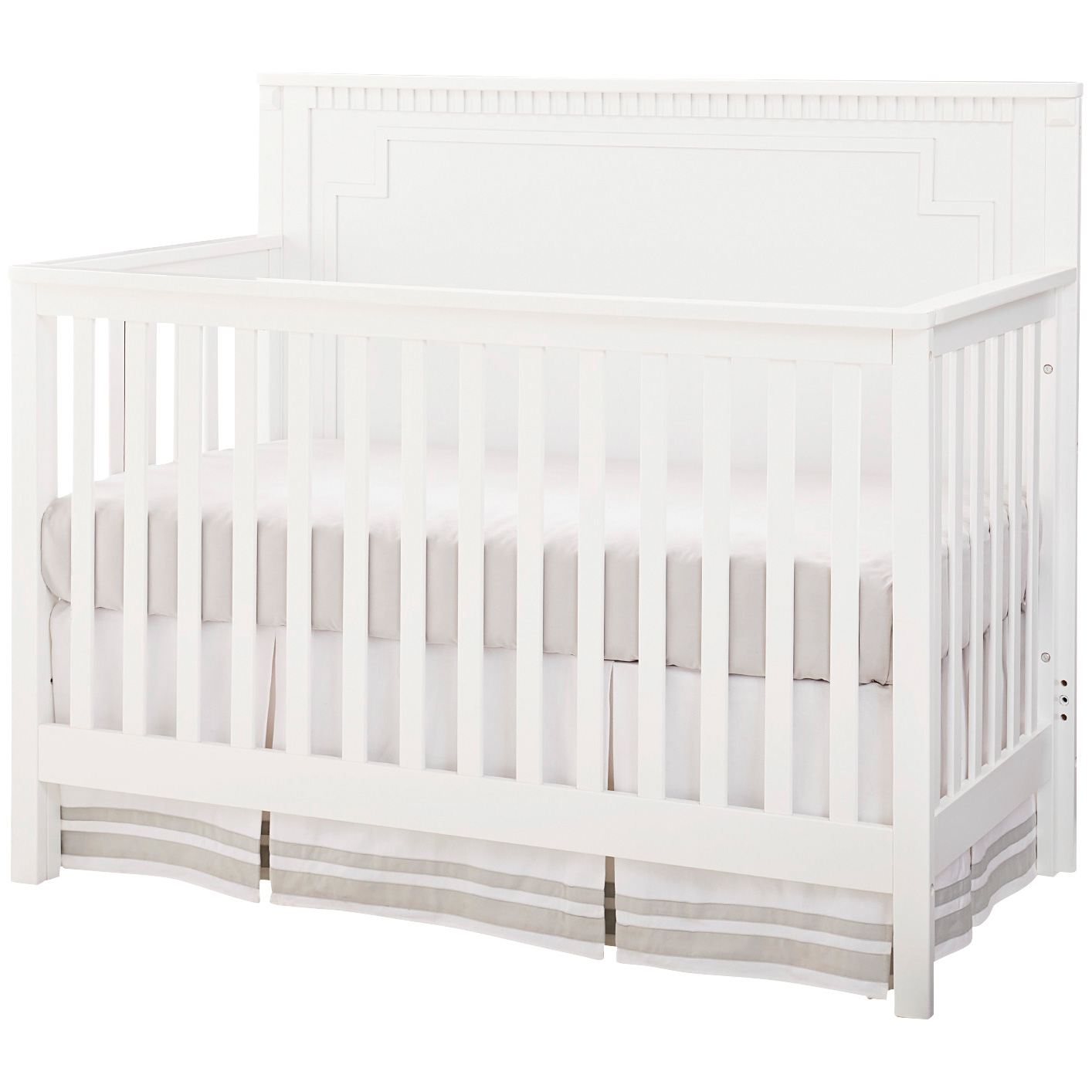 Westwood Design | Emery White Convertible Panel Crib