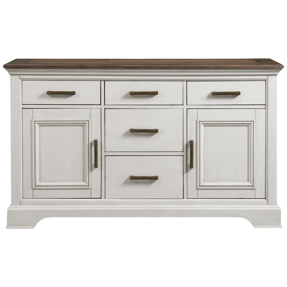 Intercon | Drake White Sideboard