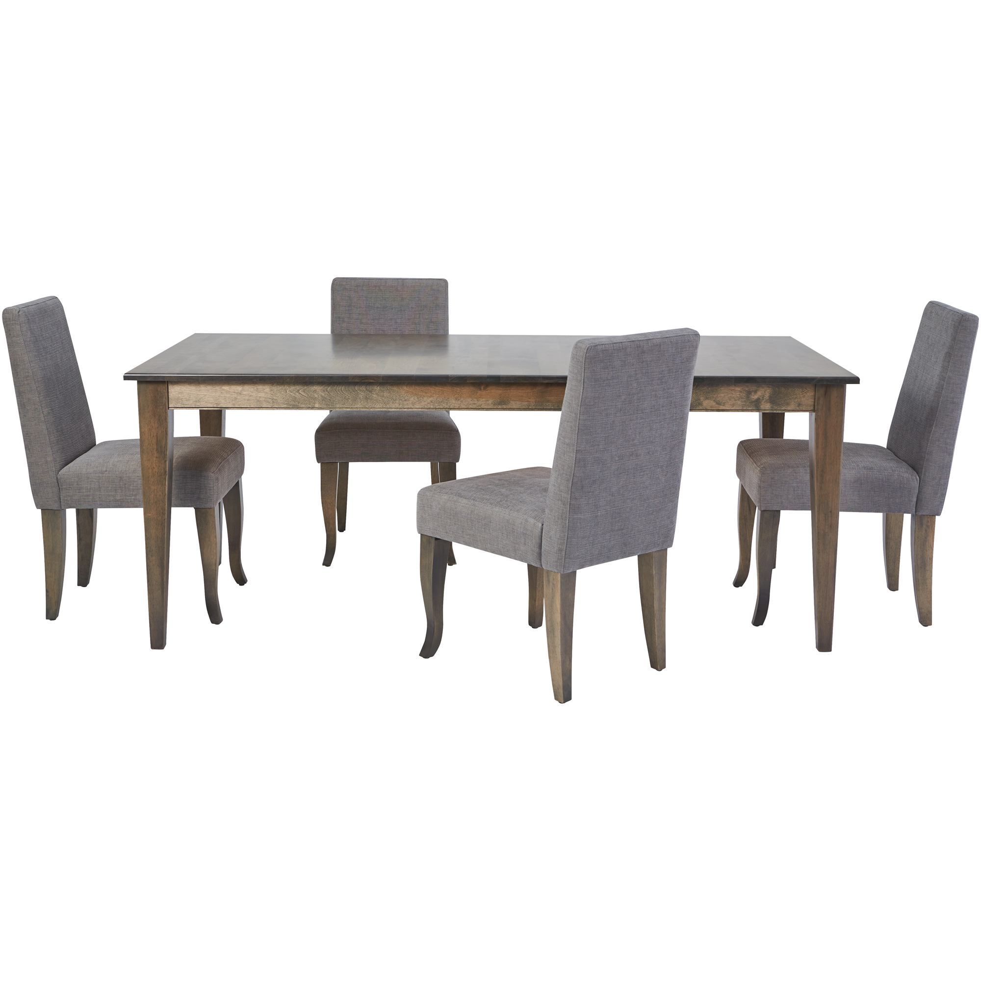 Canadel Furniture | Malibu Gray 5 Piece Dining Set