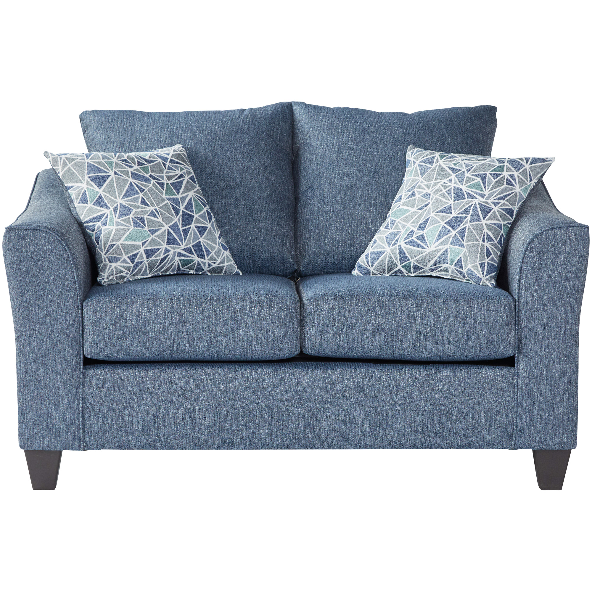 Serta Upholstery By Hughes Furniture | Bolt Cobalt Loveseat Sofa