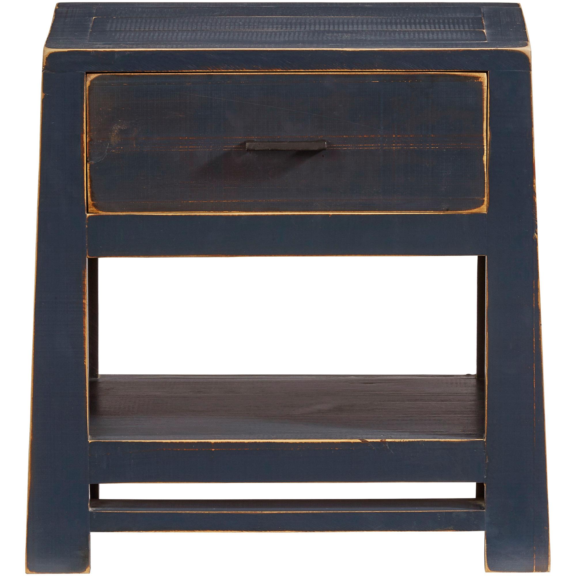 Progressive Furniture Inc. | Caroline Navy Nightstand