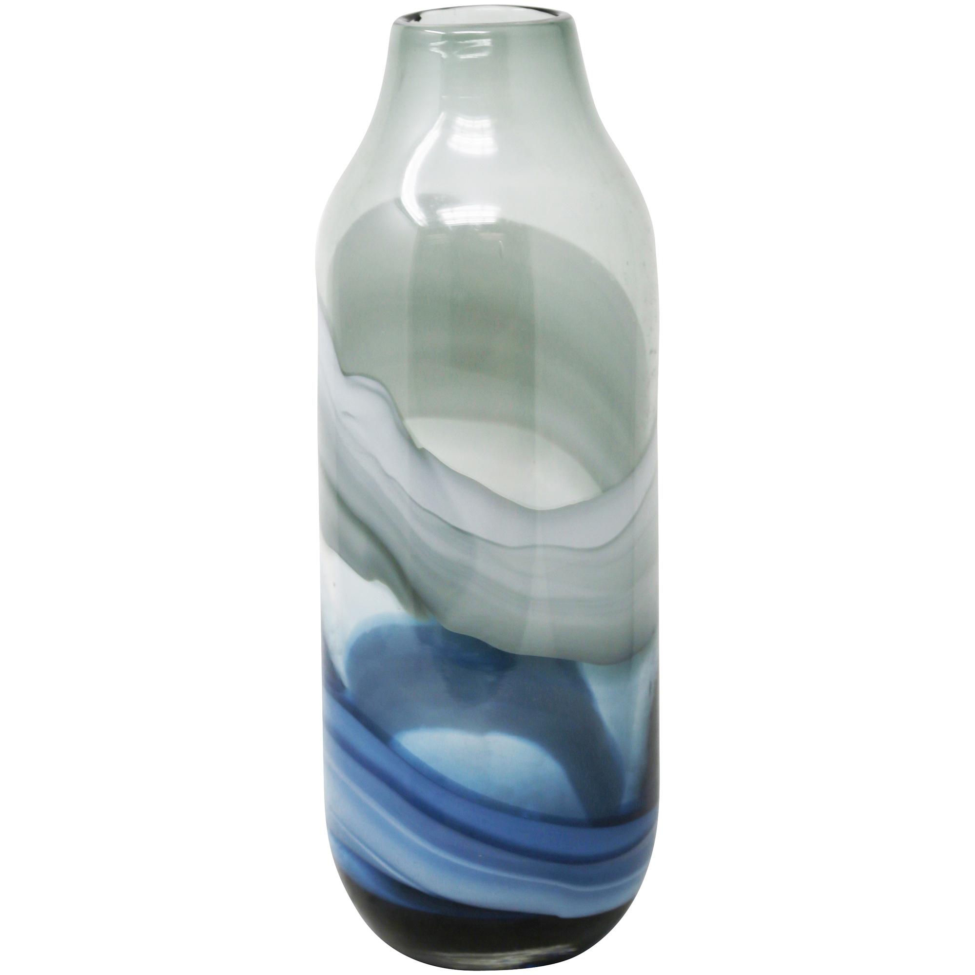 """Sagebrook | Elevated Chic 13"""" Glass Vase"""