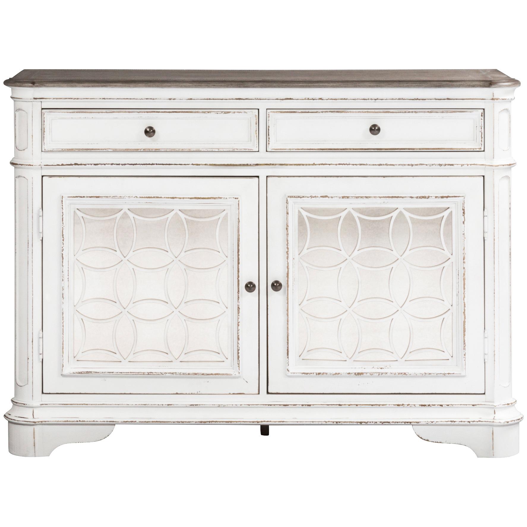Liberty Furniture | Magnolia Manor White Buffet